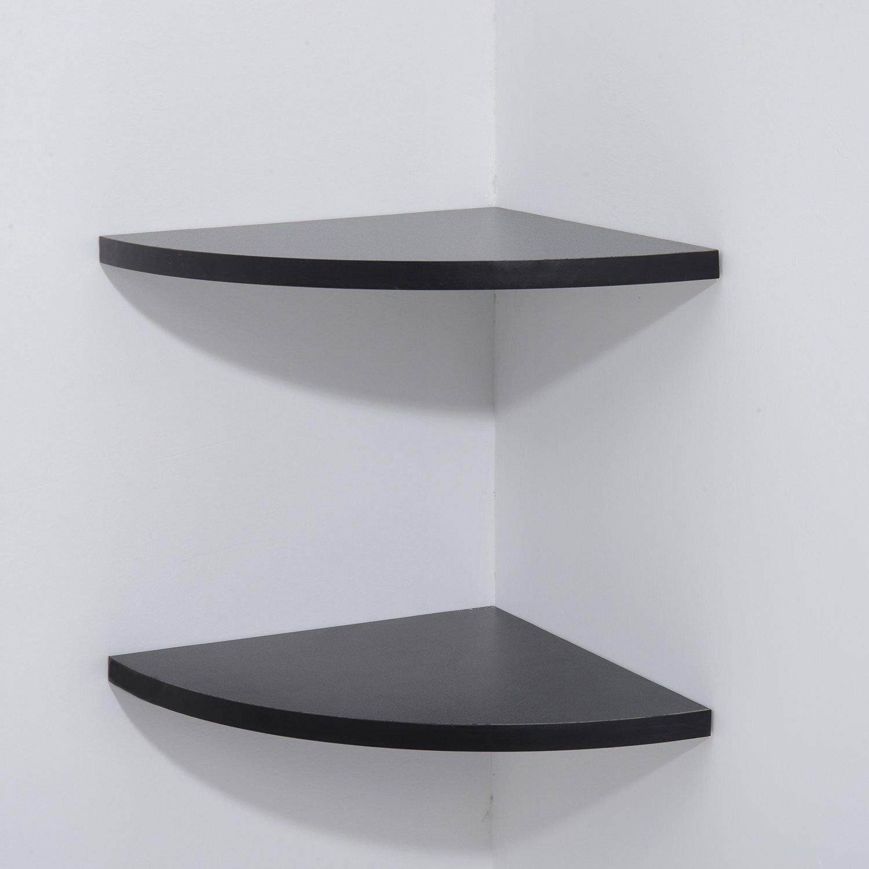 bel tage wall mount corner shelf wayfair uk. Black Bedroom Furniture Sets. Home Design Ideas