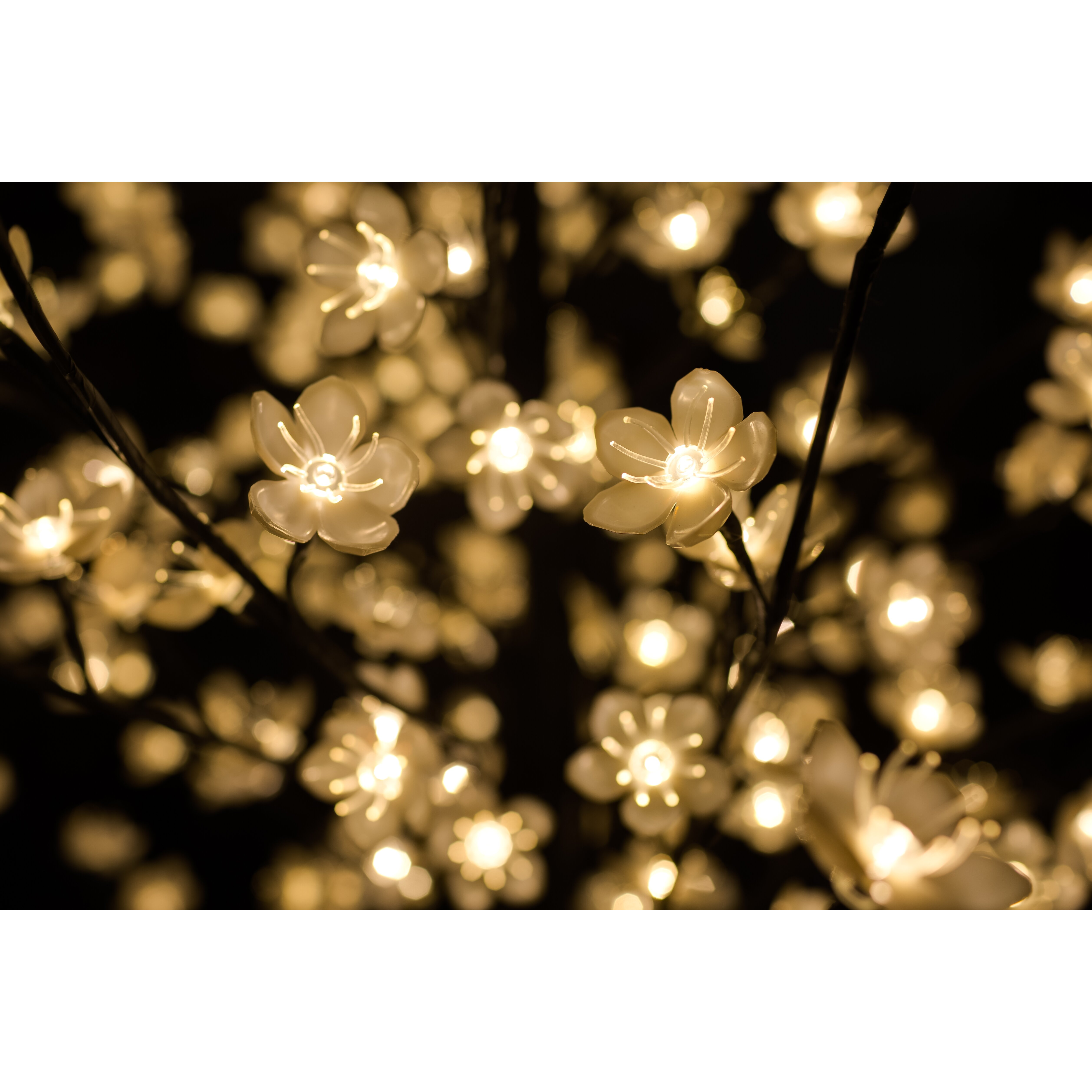 Hi Line Gift Ltd Outdoor Cherry Blossom Tree With Flowers And 488 LED Lights