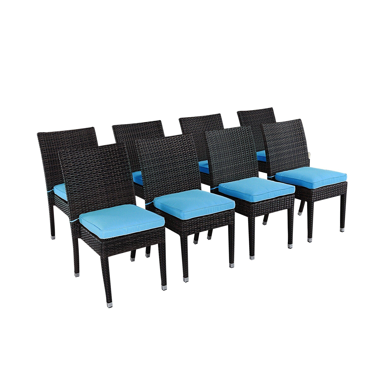Rattan outdoor furniture brighton 9 piece dining set with for Outdoor furniture 9 piece