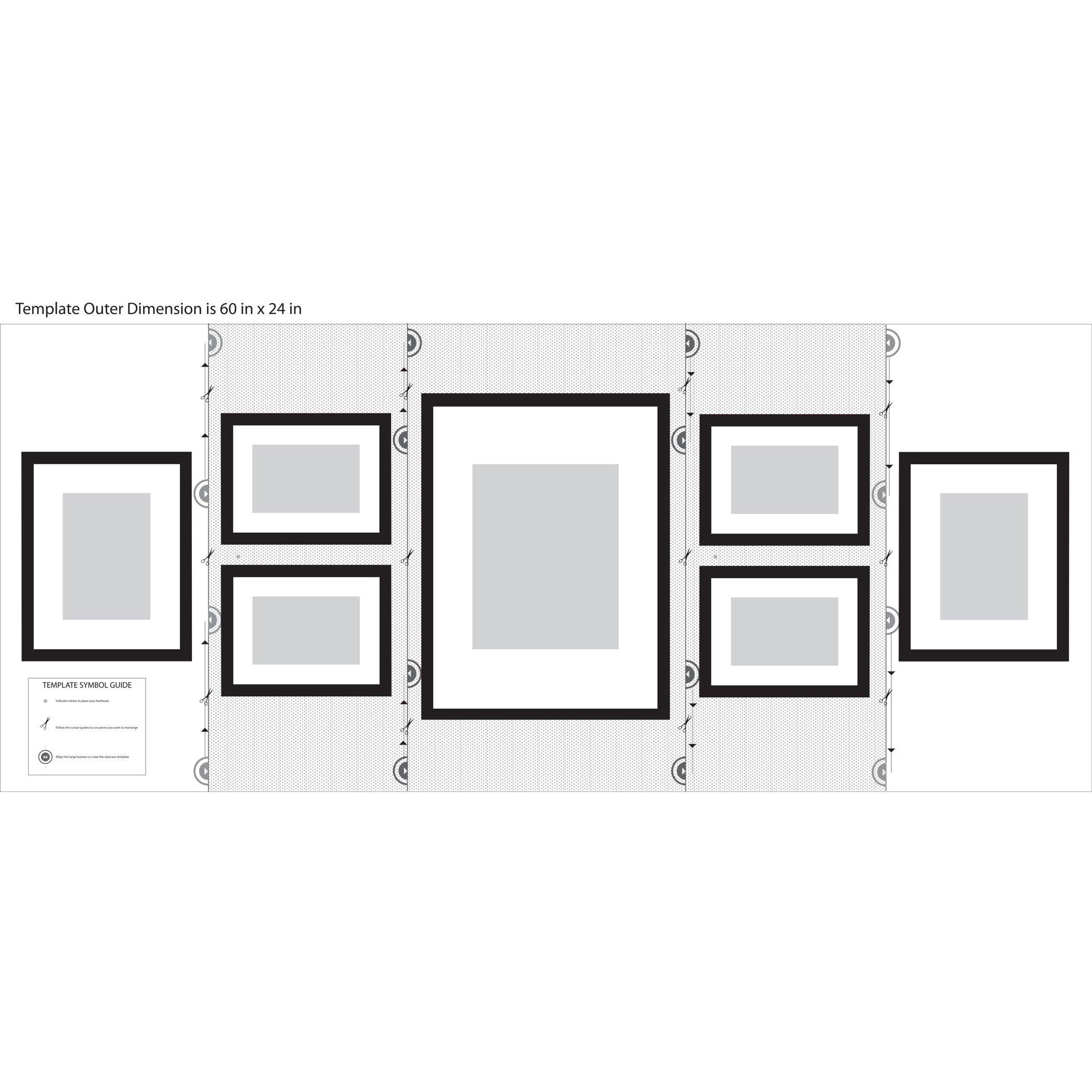 Nielsenbainbridge 7 Piece Wood Matted Picture Frame Set
