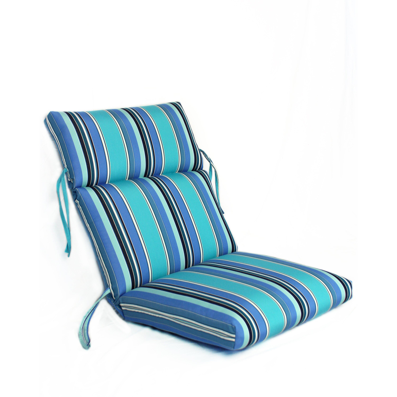 fort Clas Waterfall Outdoor Sunbrella Lounge Chair Cushion & Reviews