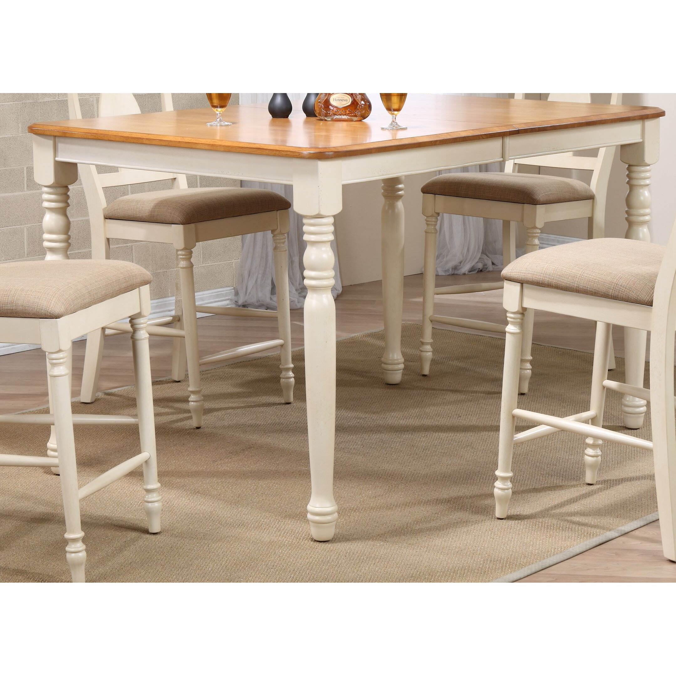 Iconic furniture counter height pub table wayfair for Iconic tables