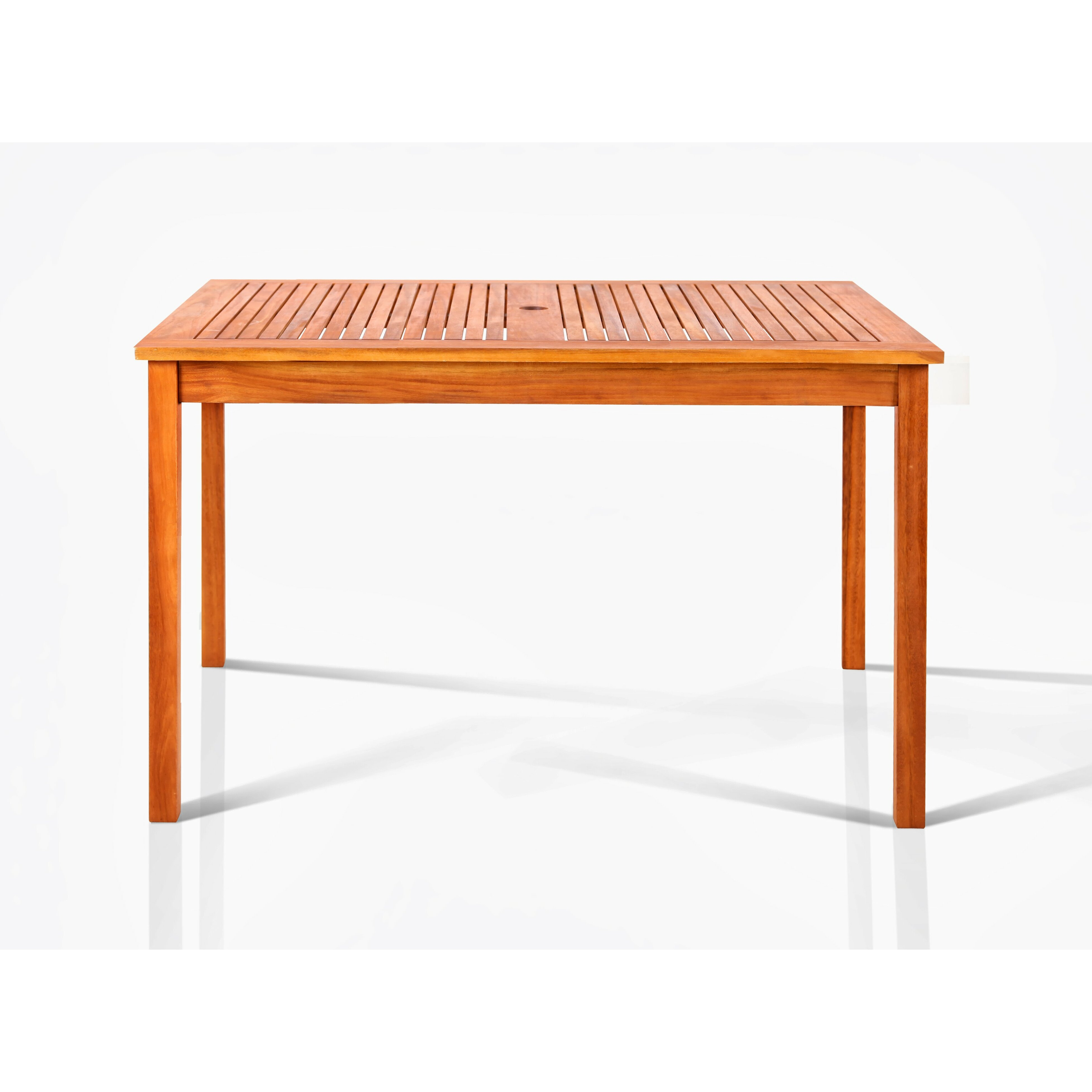 Vifah well dining table reviews wayfair for Wayfair dining table