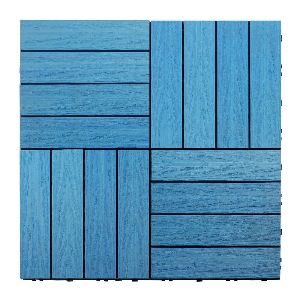 Newtechwood naturale composite quot interlocking deck