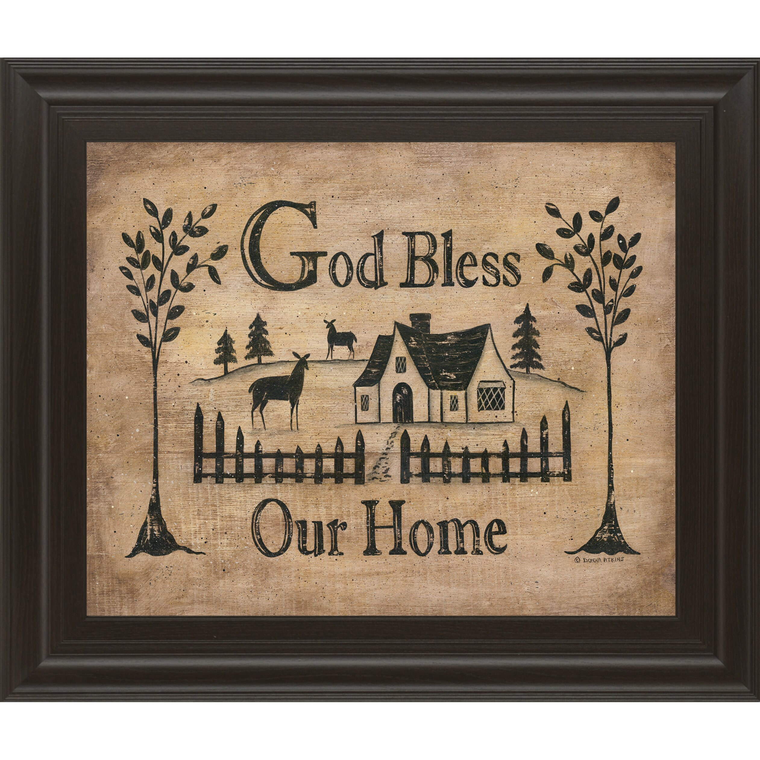 god bless our home wall decor god bless our home quote. Black Bedroom Furniture Sets. Home Design Ideas