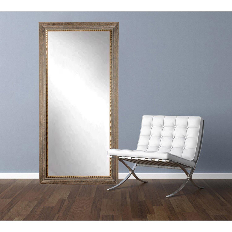 Brandtworksllc Wood Trail Floor Mirror Wayfair