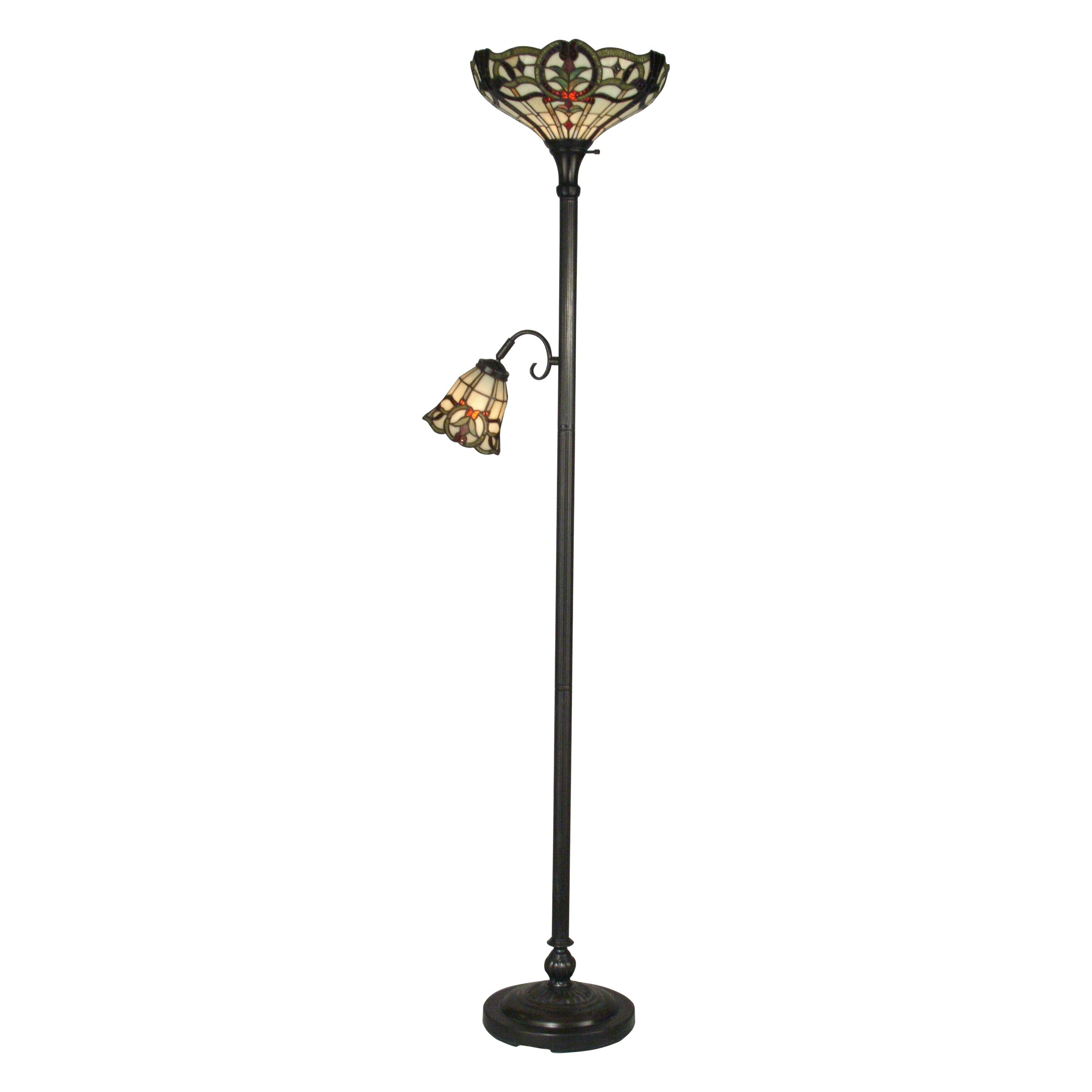 lighting lamps rustic floor lamps dale tiffany sku dt2466. Black Bedroom Furniture Sets. Home Design Ideas