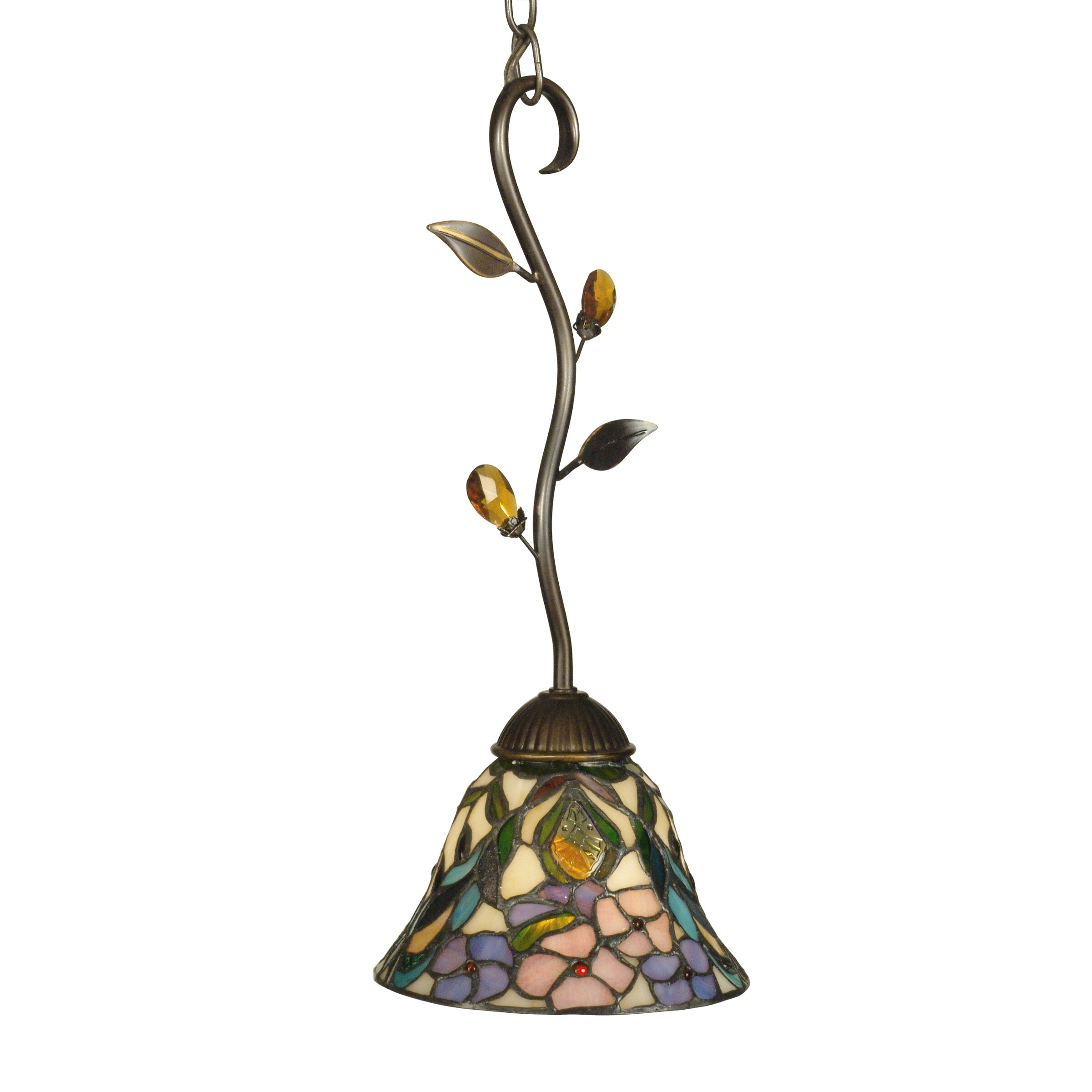Dale Tiffany Crystal Peony 1 Light Pendant Amp Reviews