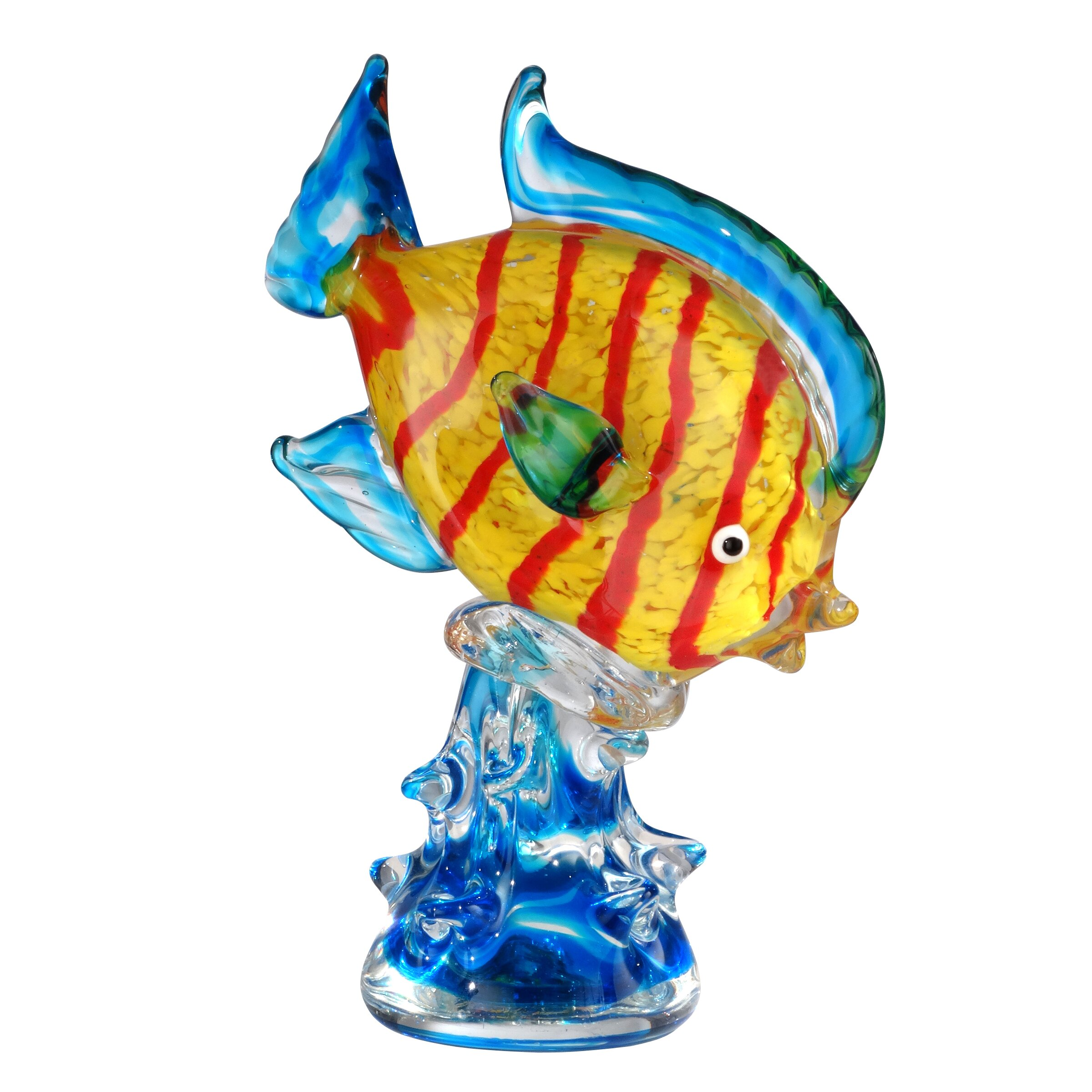 Dale tiffany clown fish figurine wayfair for Clown fish price
