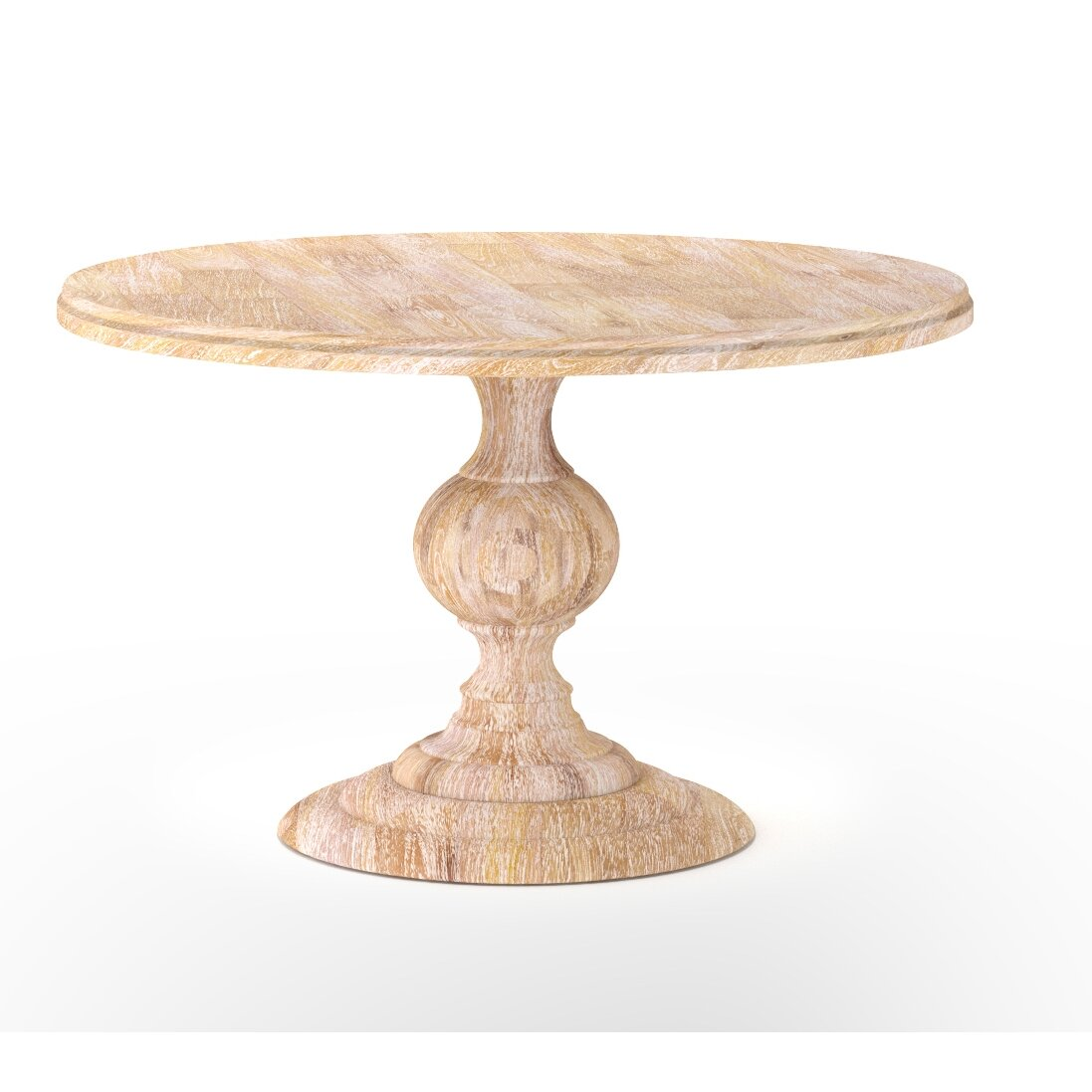 Design tree home magnolia round dining table for Magnolia dining table