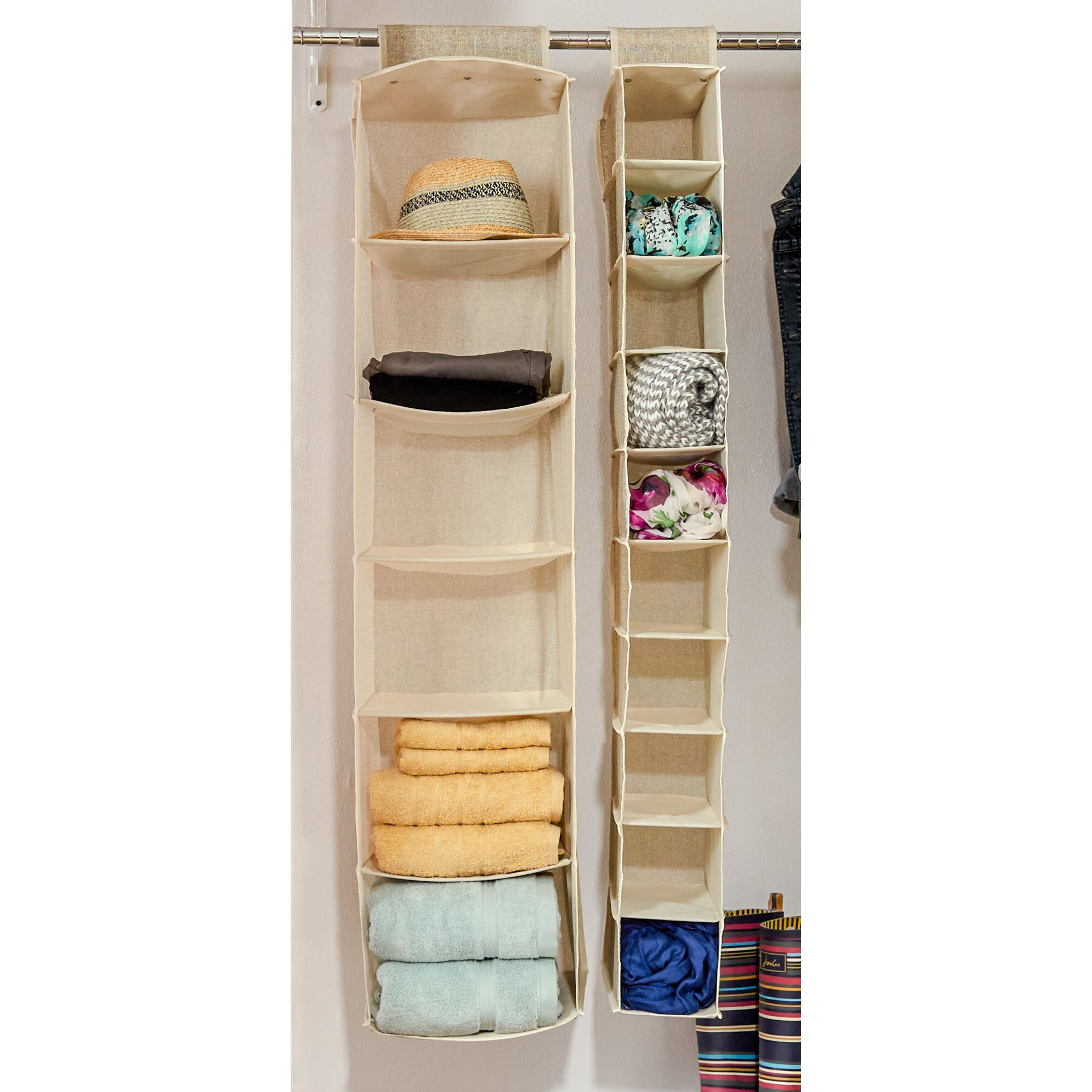 Wayfair Basics Wayfair Basics 10 Compartment Hanging Shoe