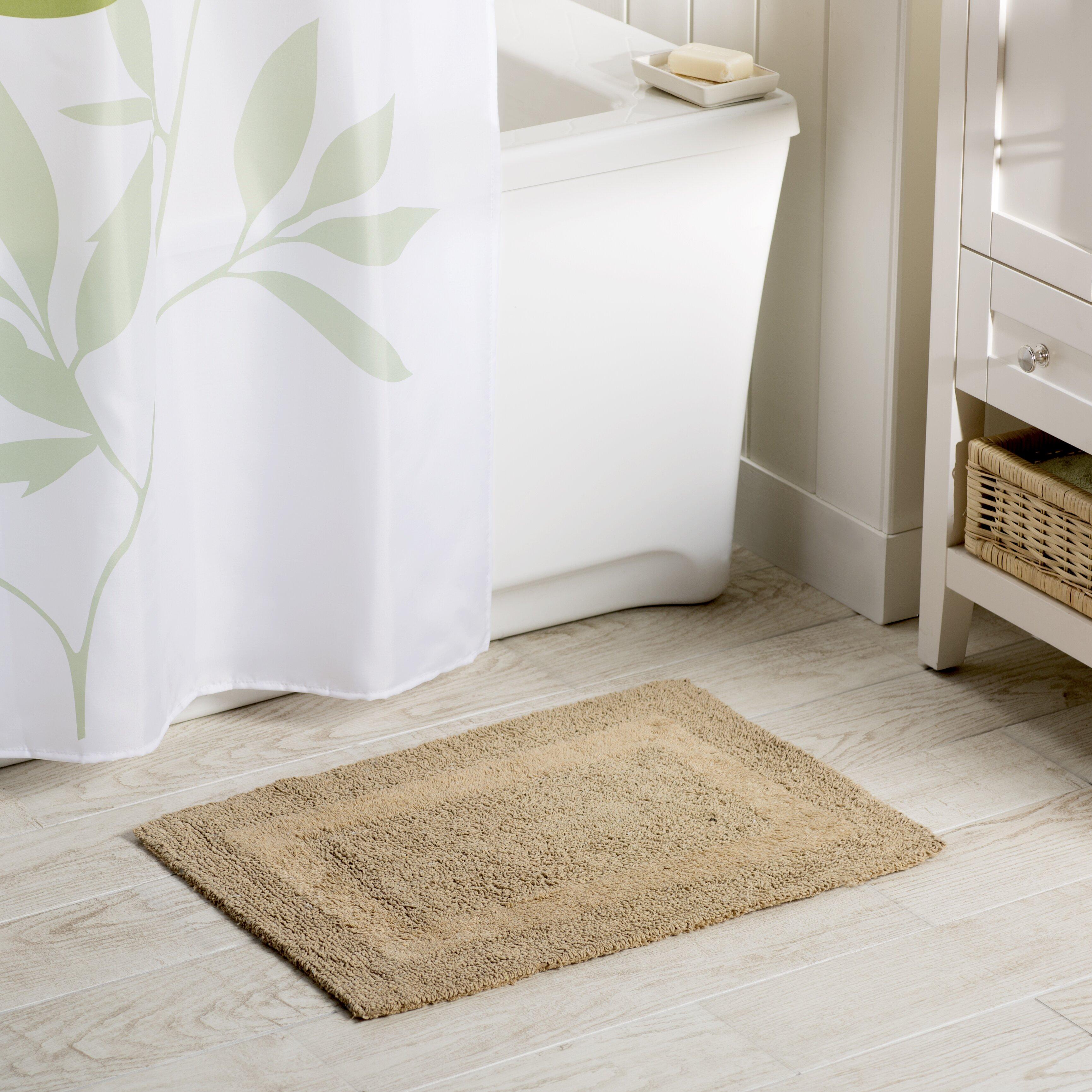 Reversible Bathroom Mats: Wayfair Basics Wayfair Basics Reversible Bath Mat