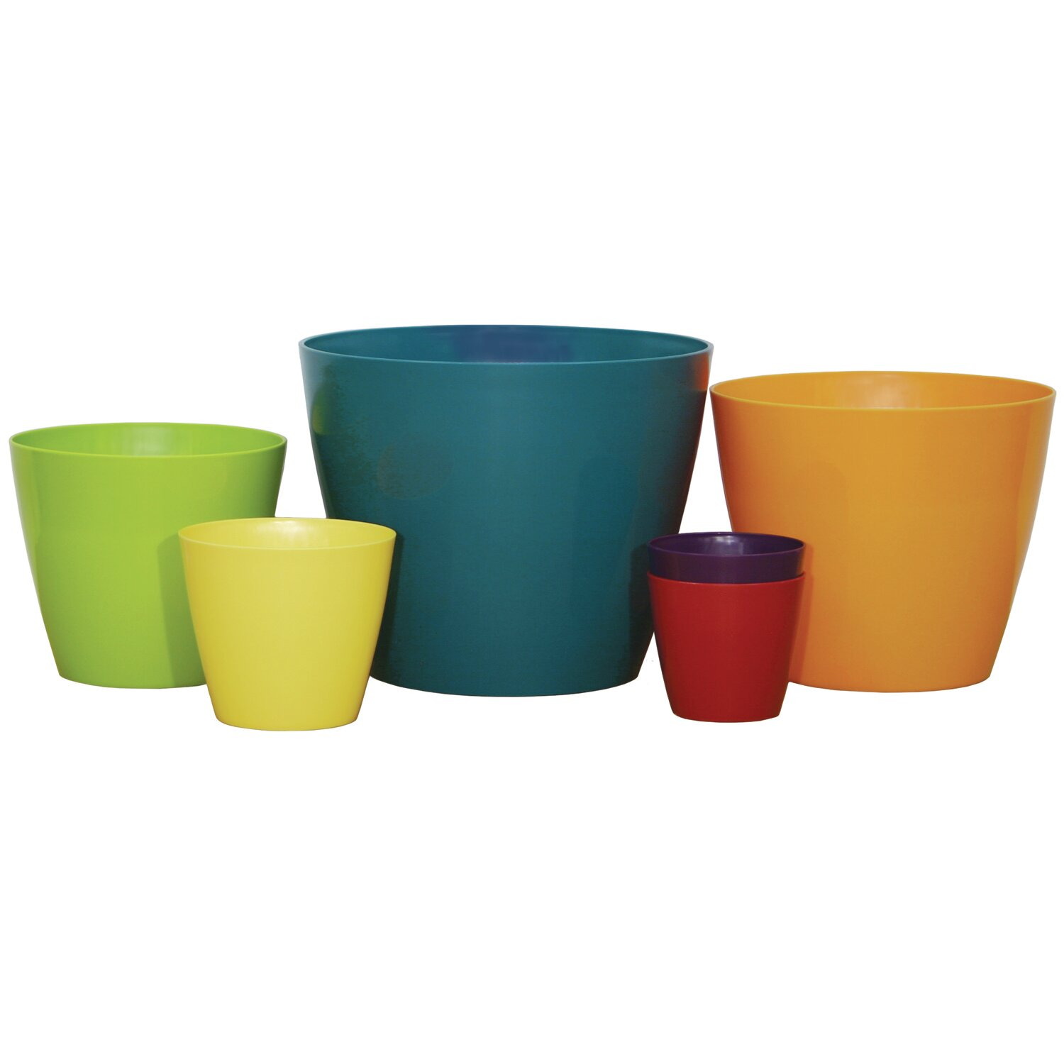 Wayfair Basics Wayfair Basics Round Planter Set Amp Reviews