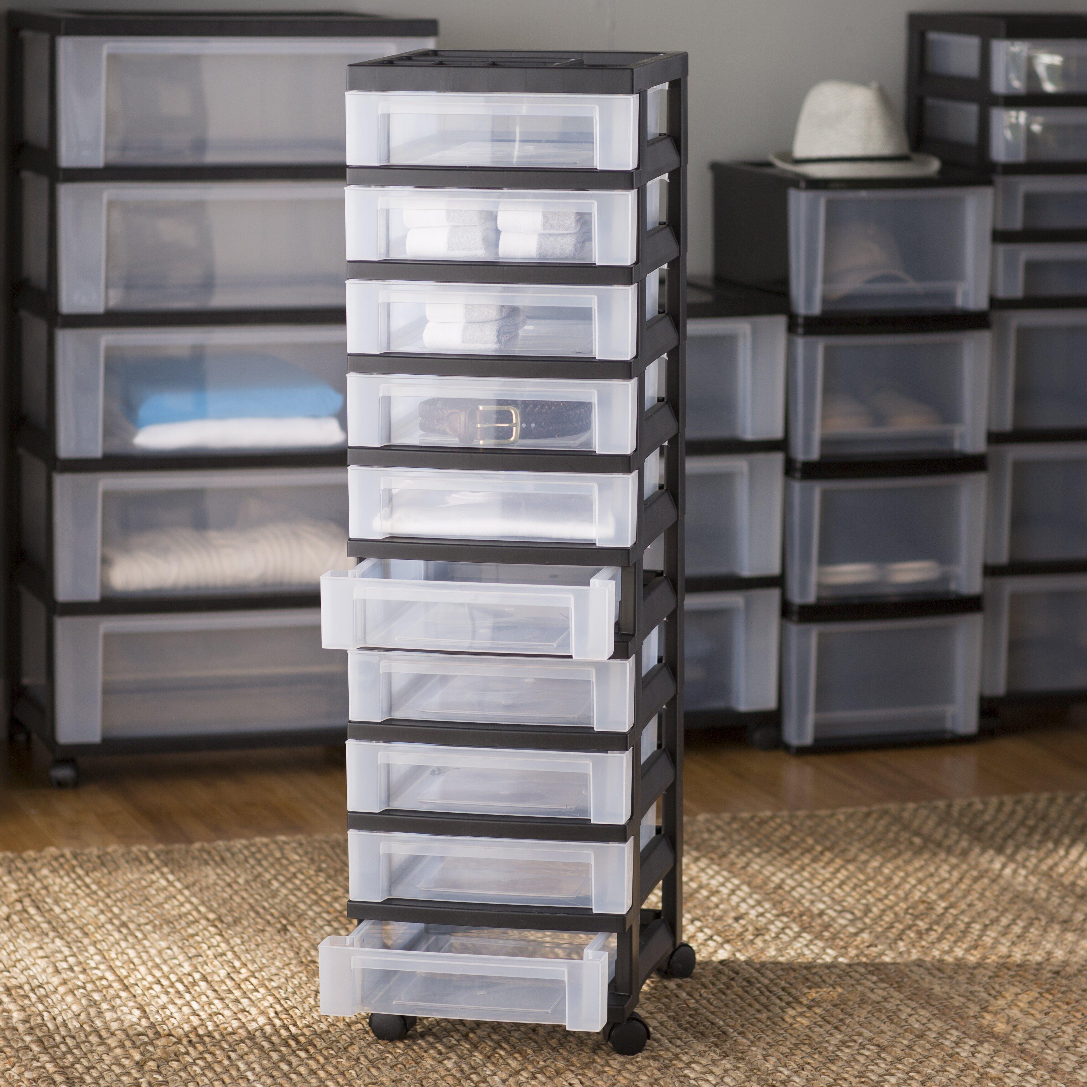 wayfair basics wayfair basics 10 drawer storage chest. Black Bedroom Furniture Sets. Home Design Ideas
