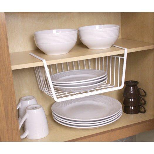 wayfair basics wayfair basics small under shelf basket. Black Bedroom Furniture Sets. Home Design Ideas