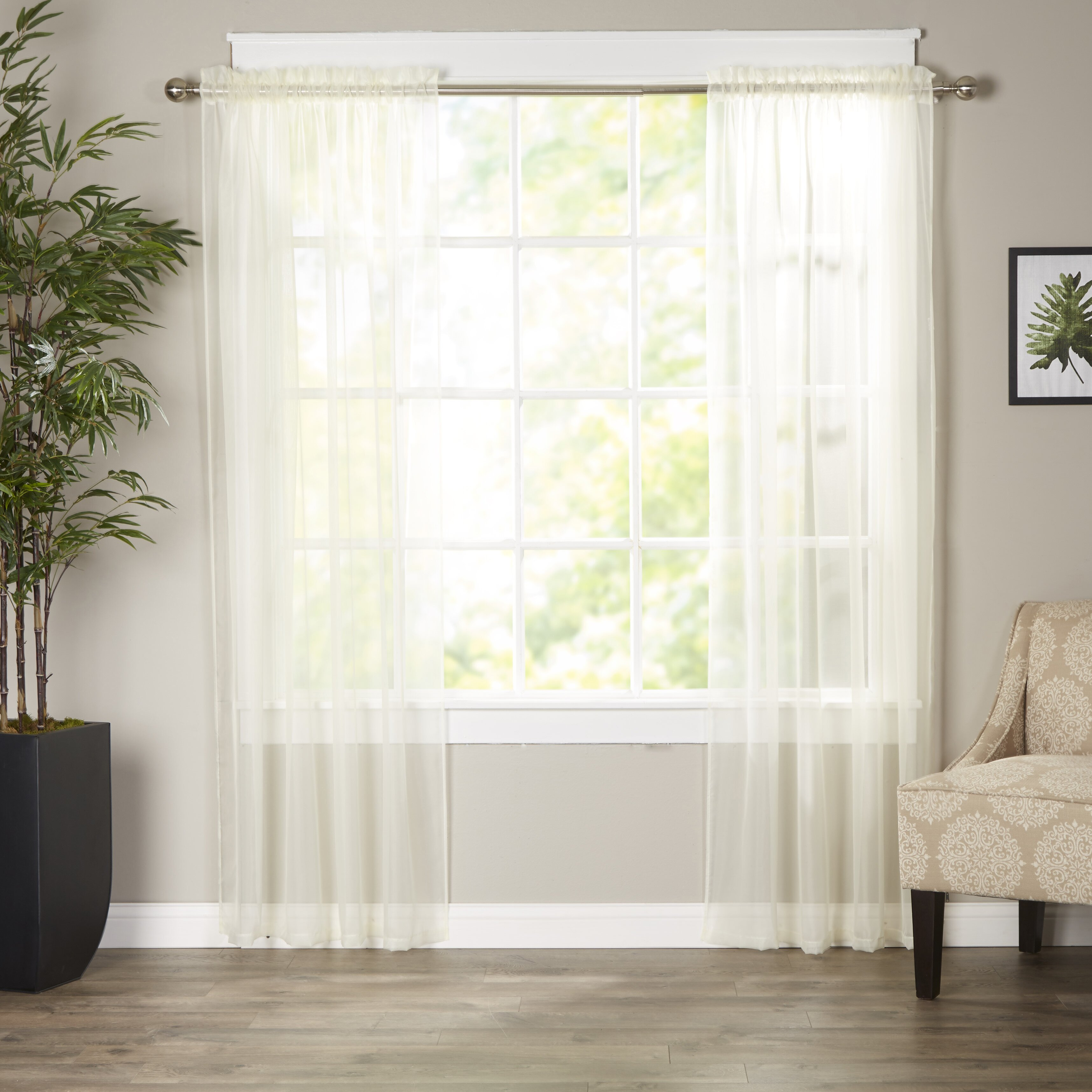 Wayfair Basics Wayfair Basics Polyester Curtain Panel  : Wayfair Basics Wayfair Basics Polyester Curtain Panel WFBS1598 from www.wayfair.com size 3433 x 3433 jpeg 1237kB