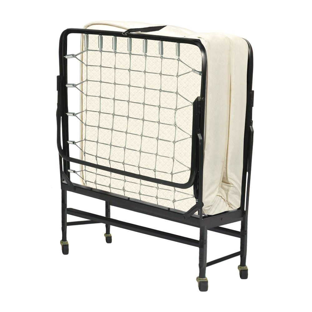 Spinal solution portable rollaway folding bed reviews for Folding bed