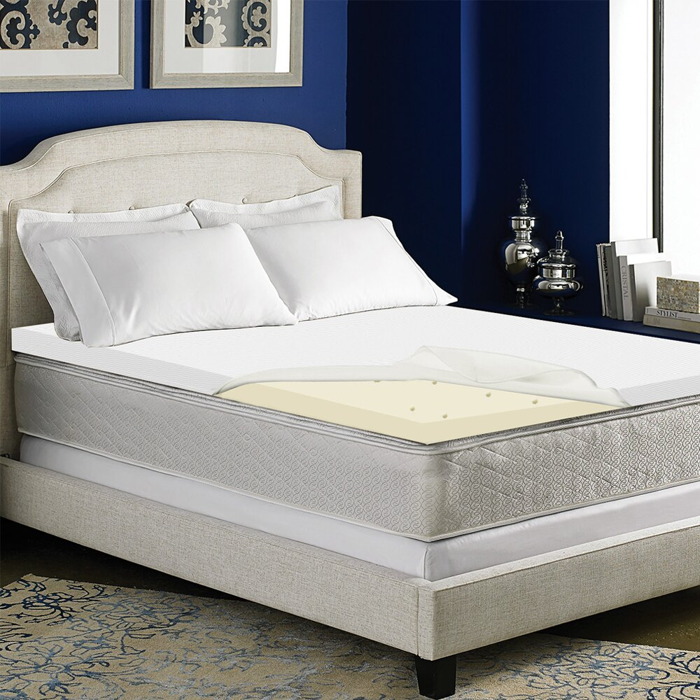 Spinal Solution High Density Foam Mattress Topper With Removable Cover Reviews
