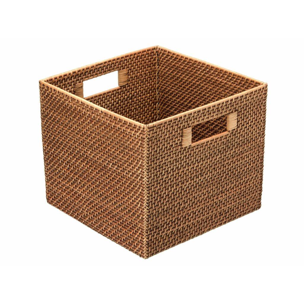 Kouboo Square Rattan Storage Basket Amp Reviews Wayfair Ca