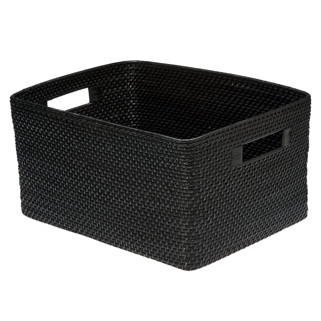 Kouboo Rectangular Rattan Storage Basket & Reviews