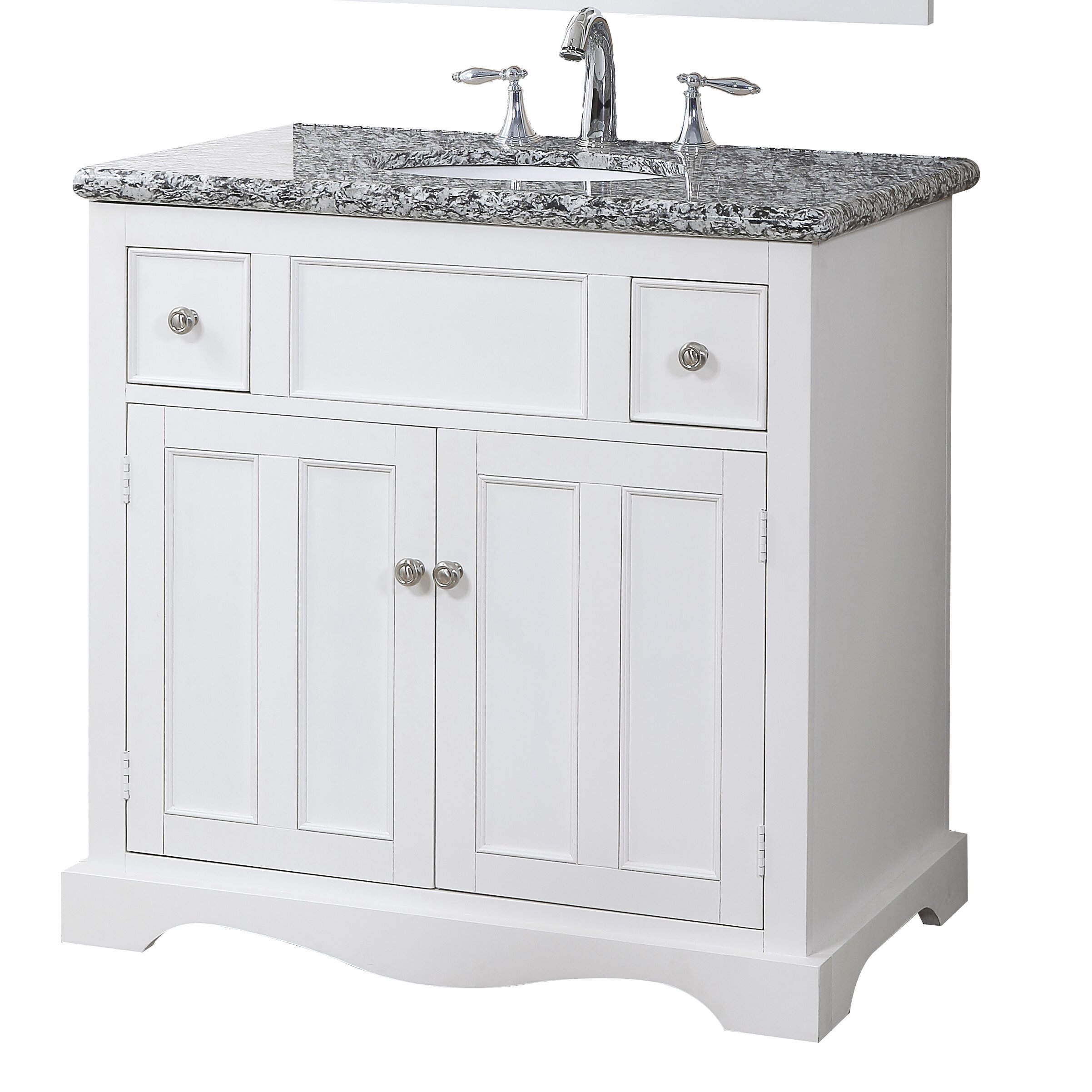 Crawford Amp Burke Morton 35 Quot Bathroom Vanity Set Amp Reviews