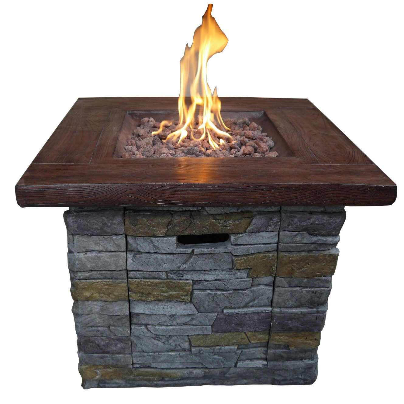 how to create a propane fire pit