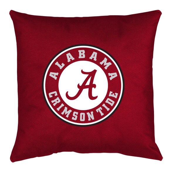 Sports Coverage NCAA Alabama Throw Pillow & Reviews Wayfair