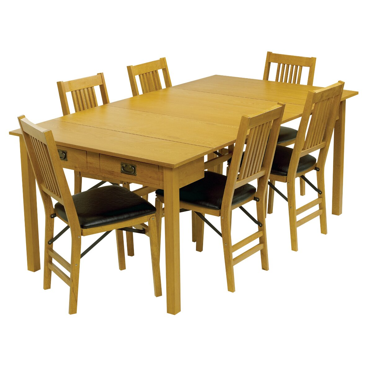Stakmore mission style expanding dining table reviews for Mission style dining table