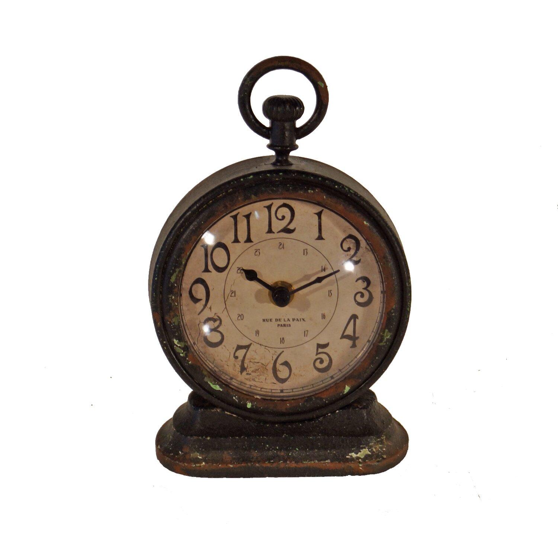 American Mercantile Metal Vintage Table Clock amp Reviews  : Metal Vintage Table Clock MT19 from www.wayfair.com size 1500 x 1500 jpeg 200kB