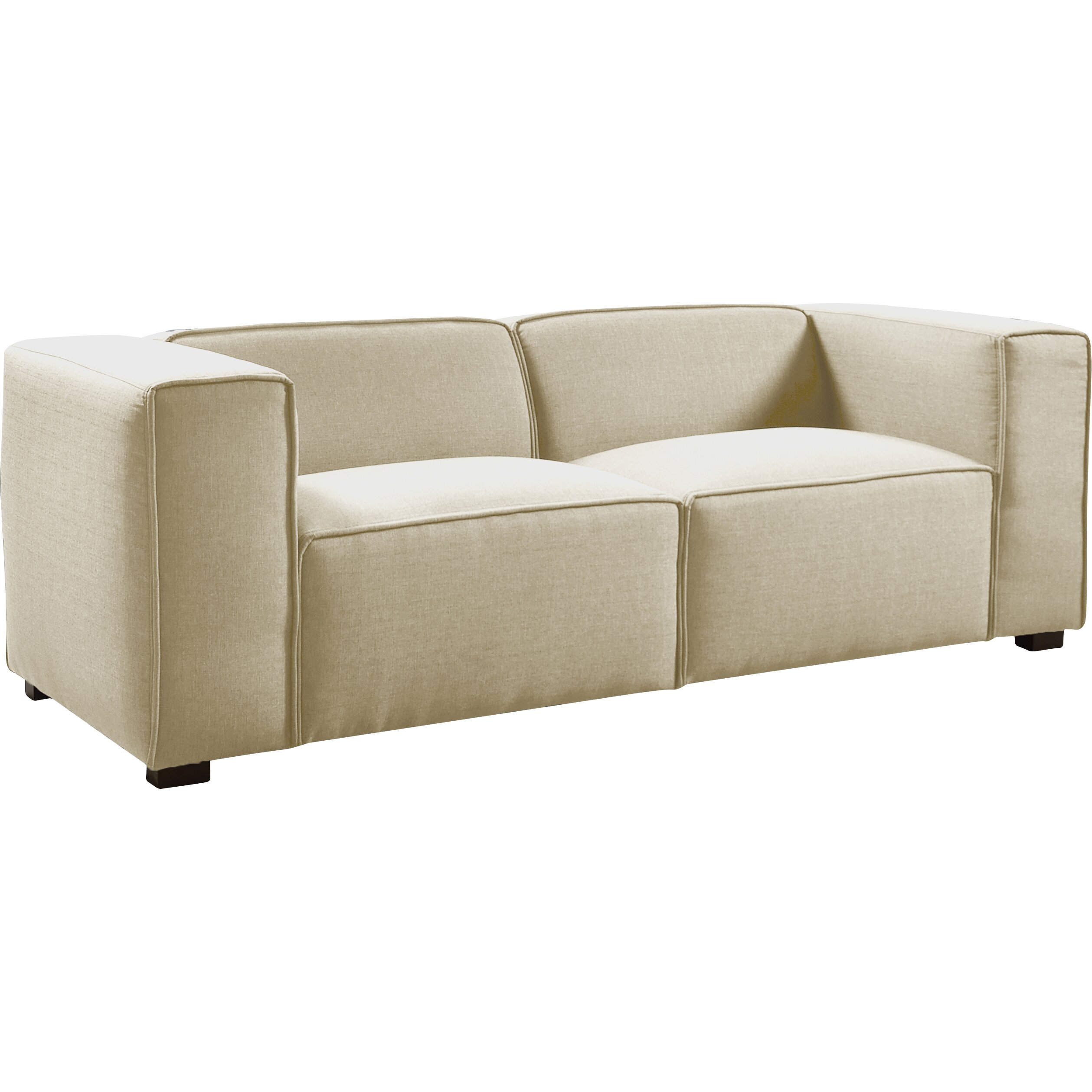 Madison Home Usa Overstuffed Sofa Wayfair