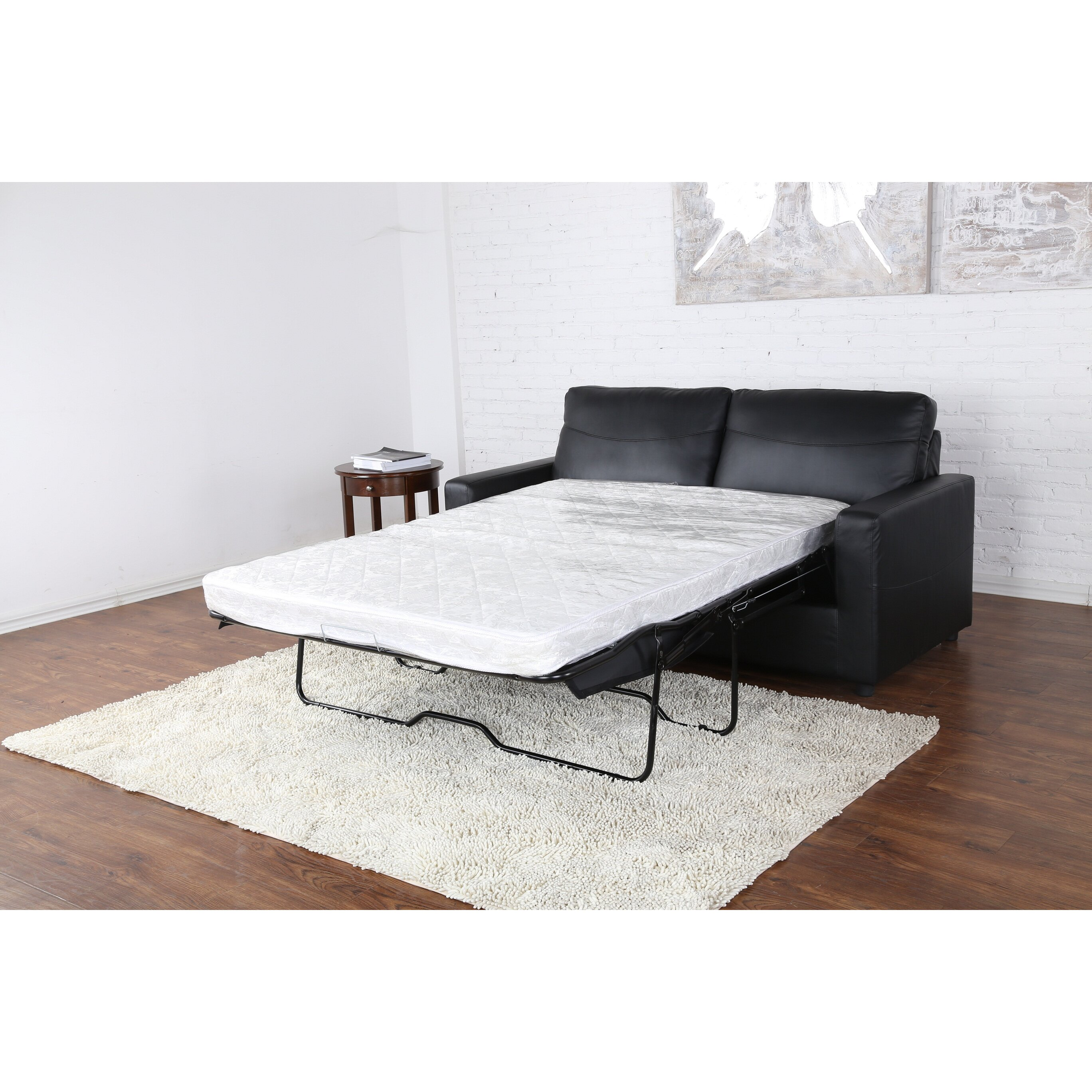 madison home usa sleeper pull out sleeper sofa reviews wayfair. Black Bedroom Furniture Sets. Home Design Ideas
