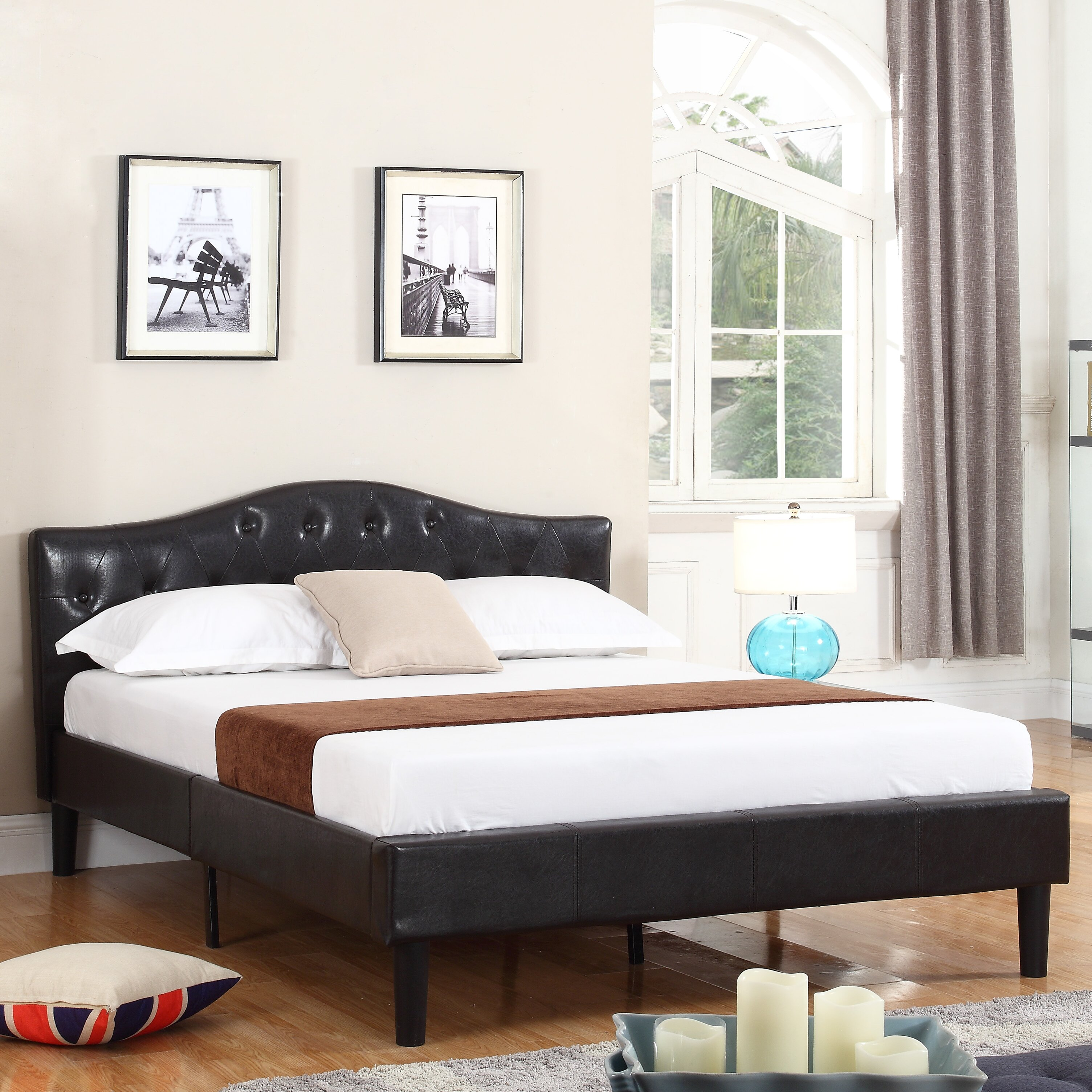 Madison Home Usa Classic Deluxe Platform Bed Frame