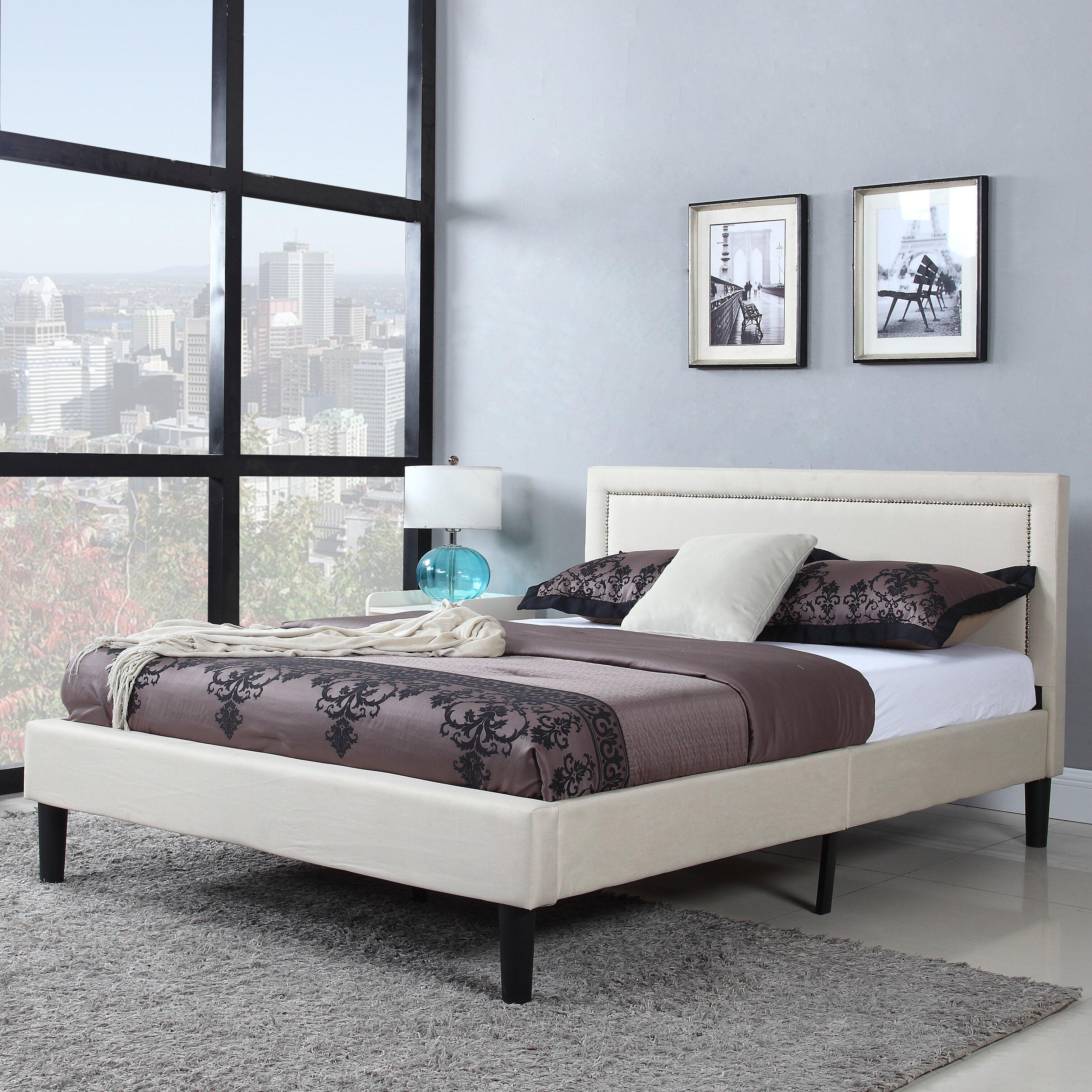 Madison Home USA Platform Bed & Reviews