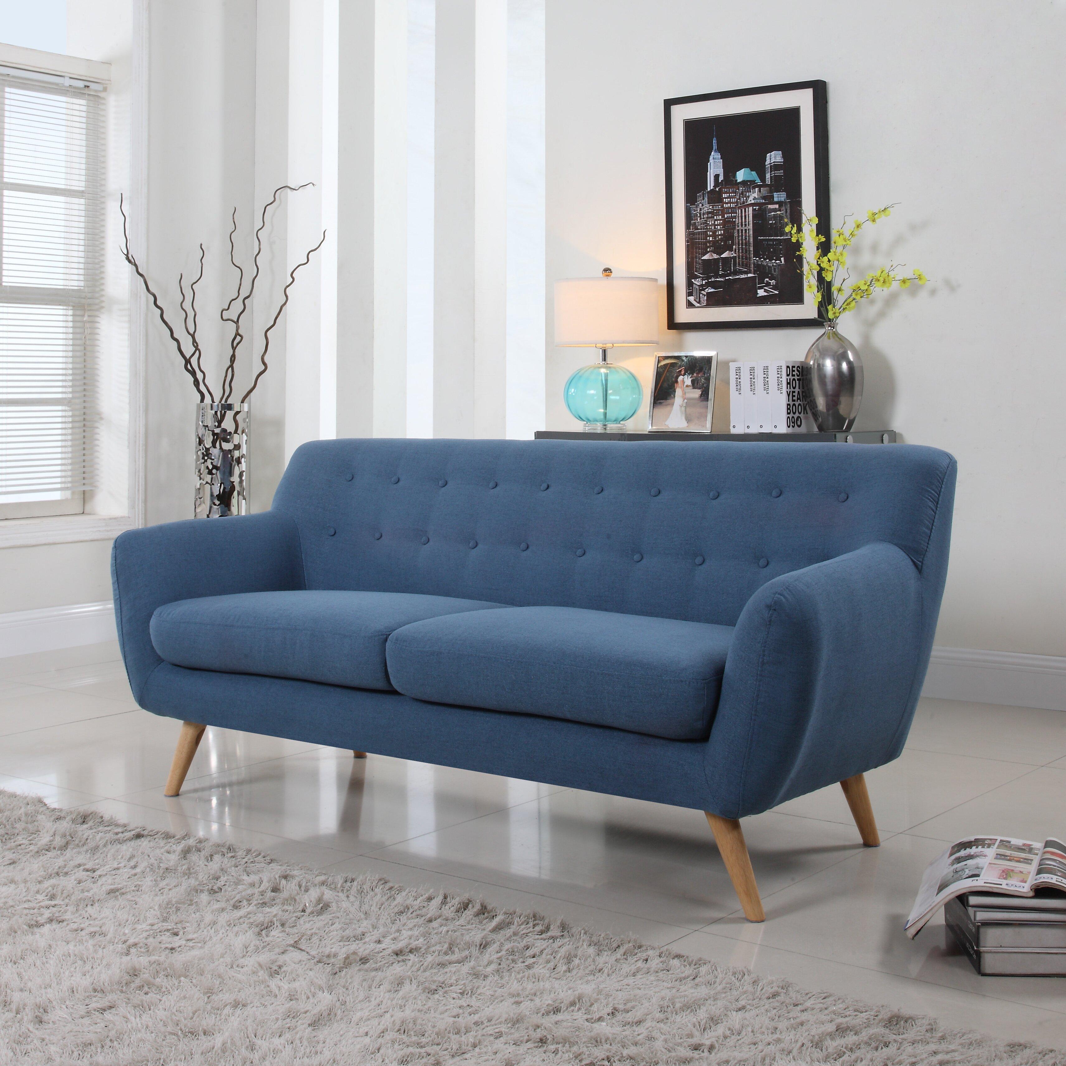 Madison Home Usa Mid Century Sofa Reviews Wayfair