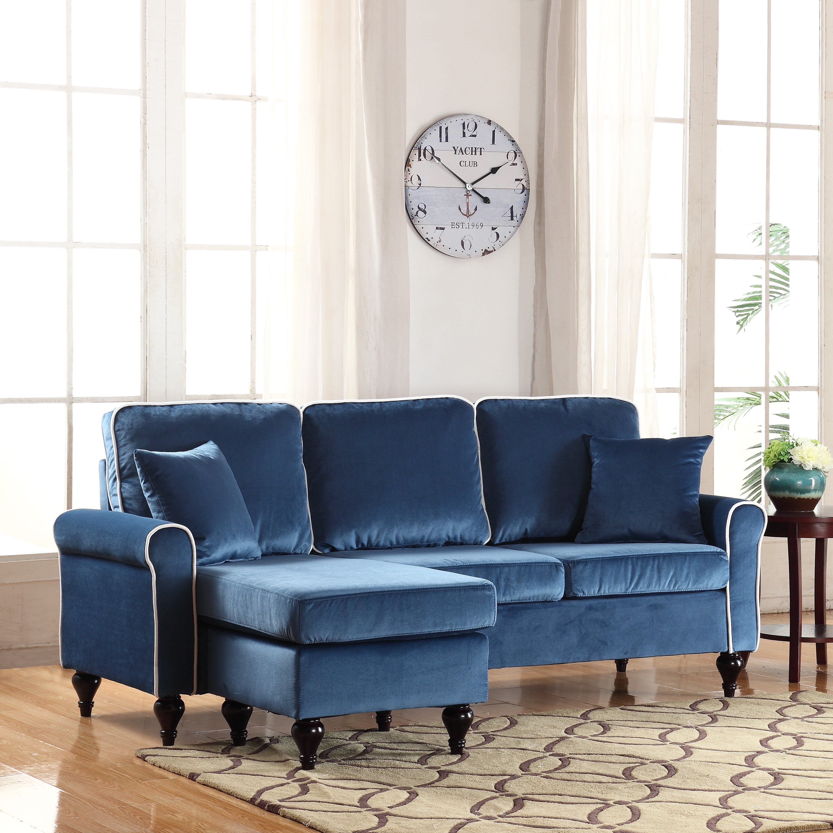 Madison Home USA Reversible Chaise Sectional & Reviews