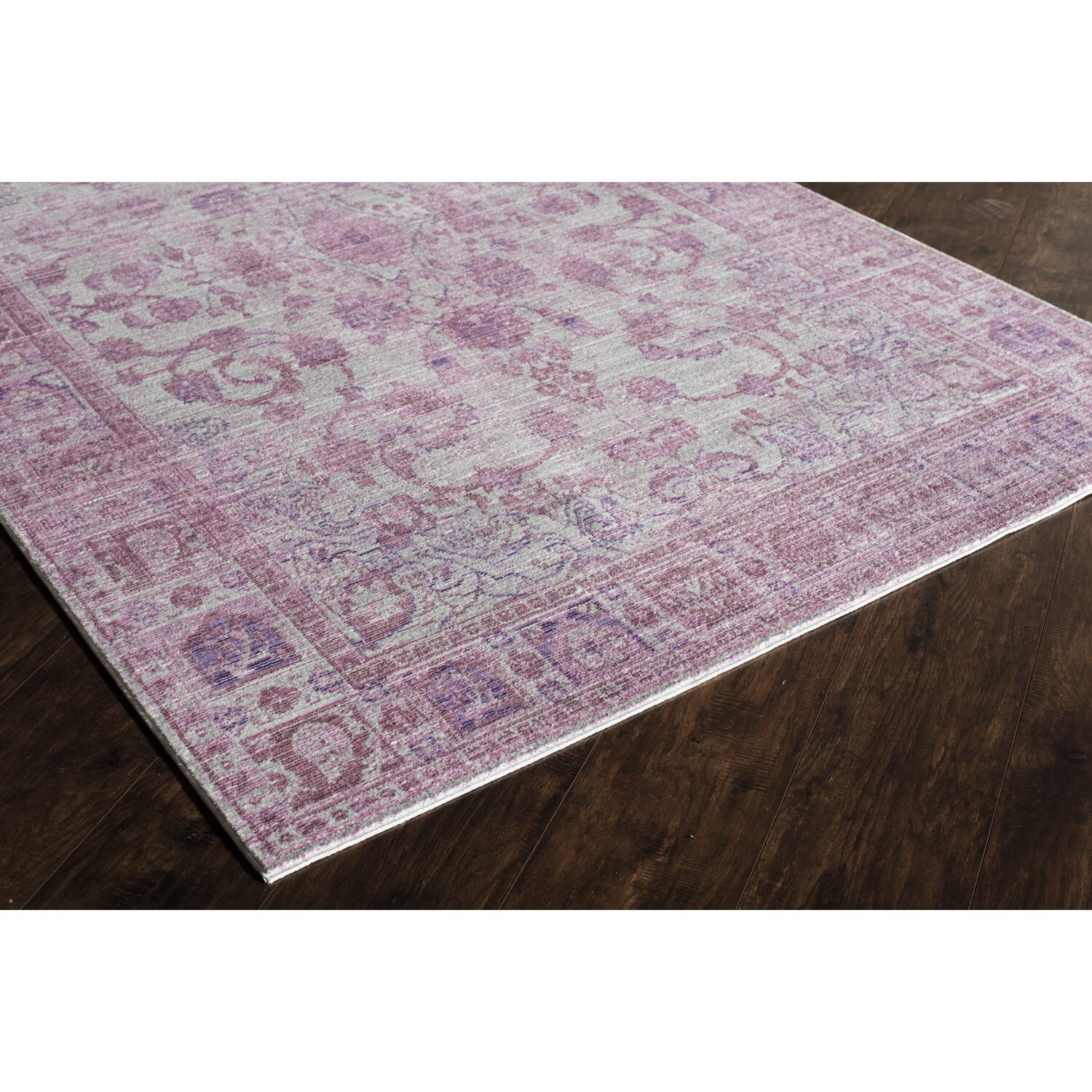 Rugs america asteria lavender area rug reviews wayfair for Where can i buy area rugs
