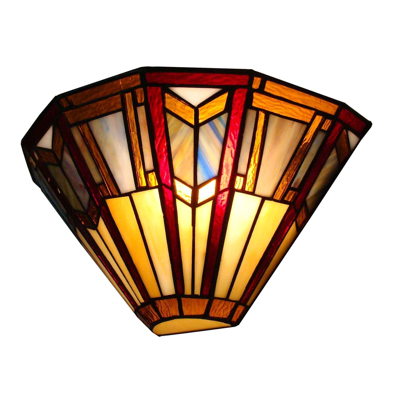 Wall Sconces Tiffany : Fine Art Lighting Tiffany 1 Light Wall Sconce & Reviews Wayfair