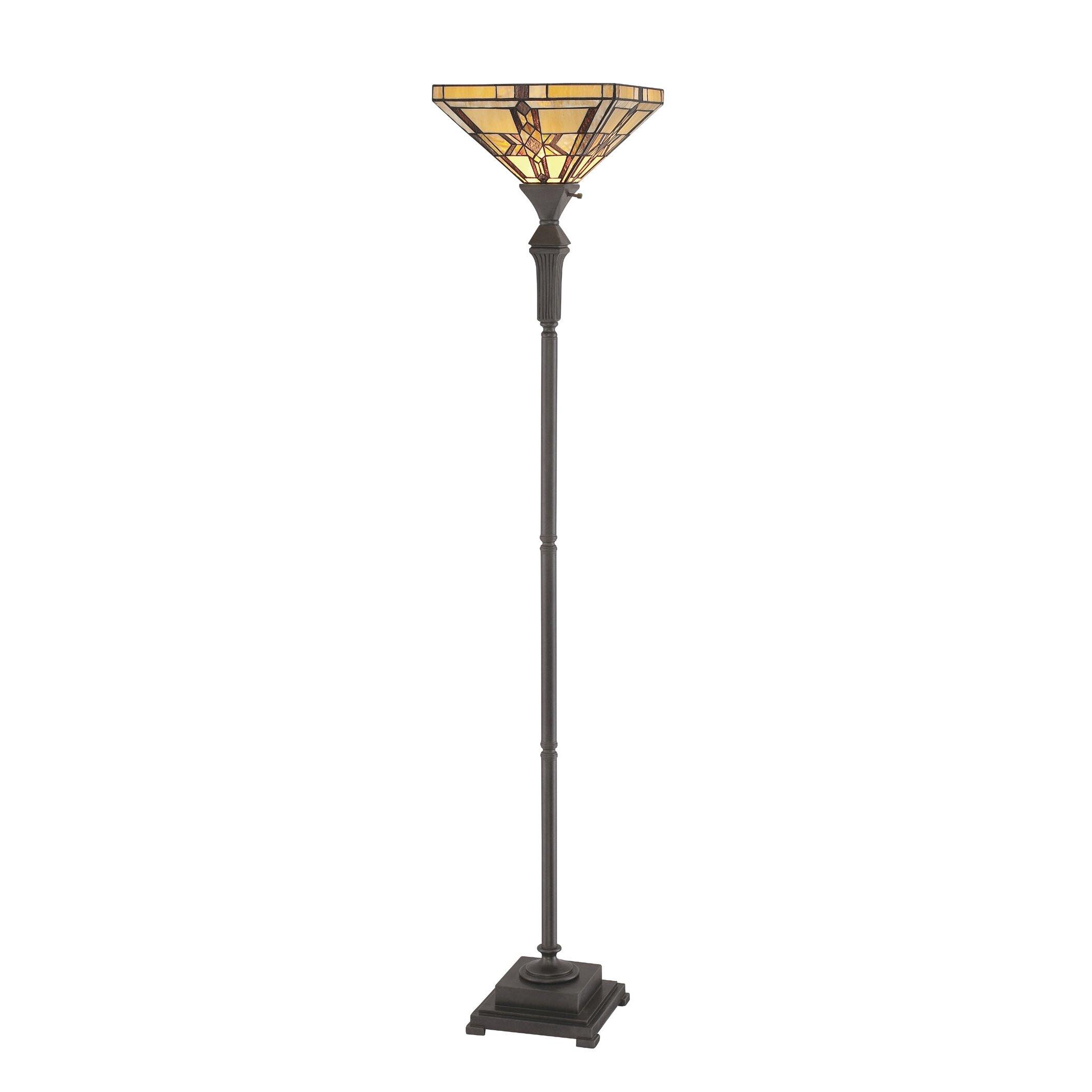 fine art lighting tiffany 72 torchiere floor lamp reviews wayfa. Black Bedroom Furniture Sets. Home Design Ideas