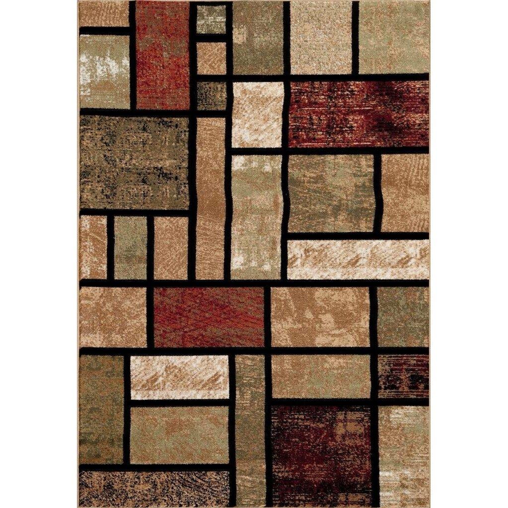 Persian-rugs Tobis Modern Beige Area Rug & Reviews