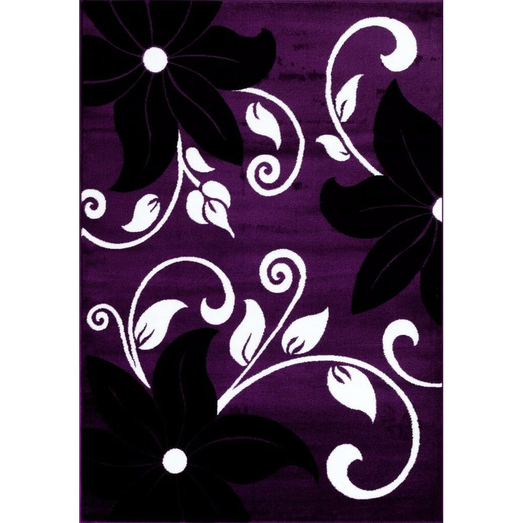 Persian Rugs Purple Area Rug Amp Reviews Wayfair