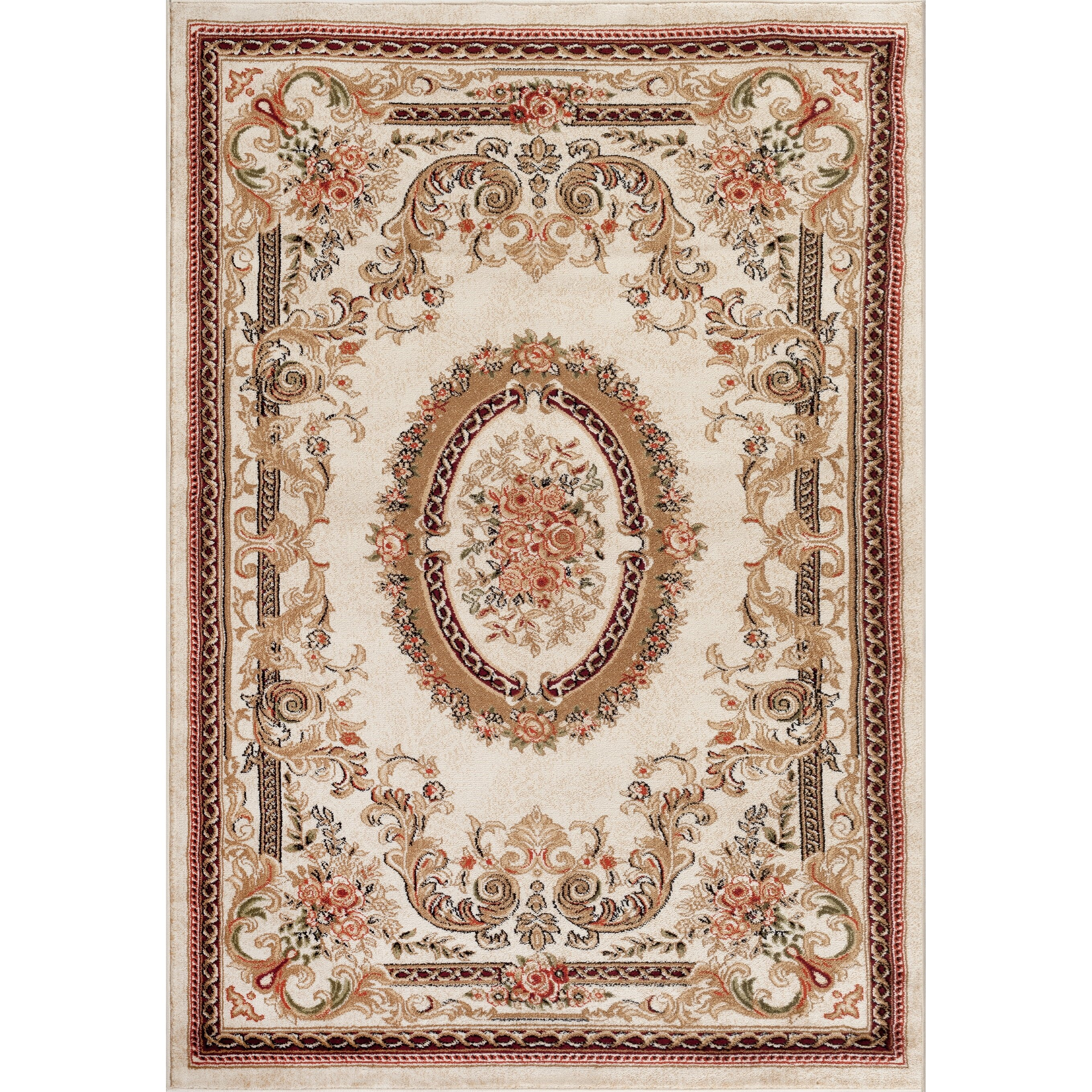 Persian-rugs Tobis Traditional Ivory Area Rug & Reviews