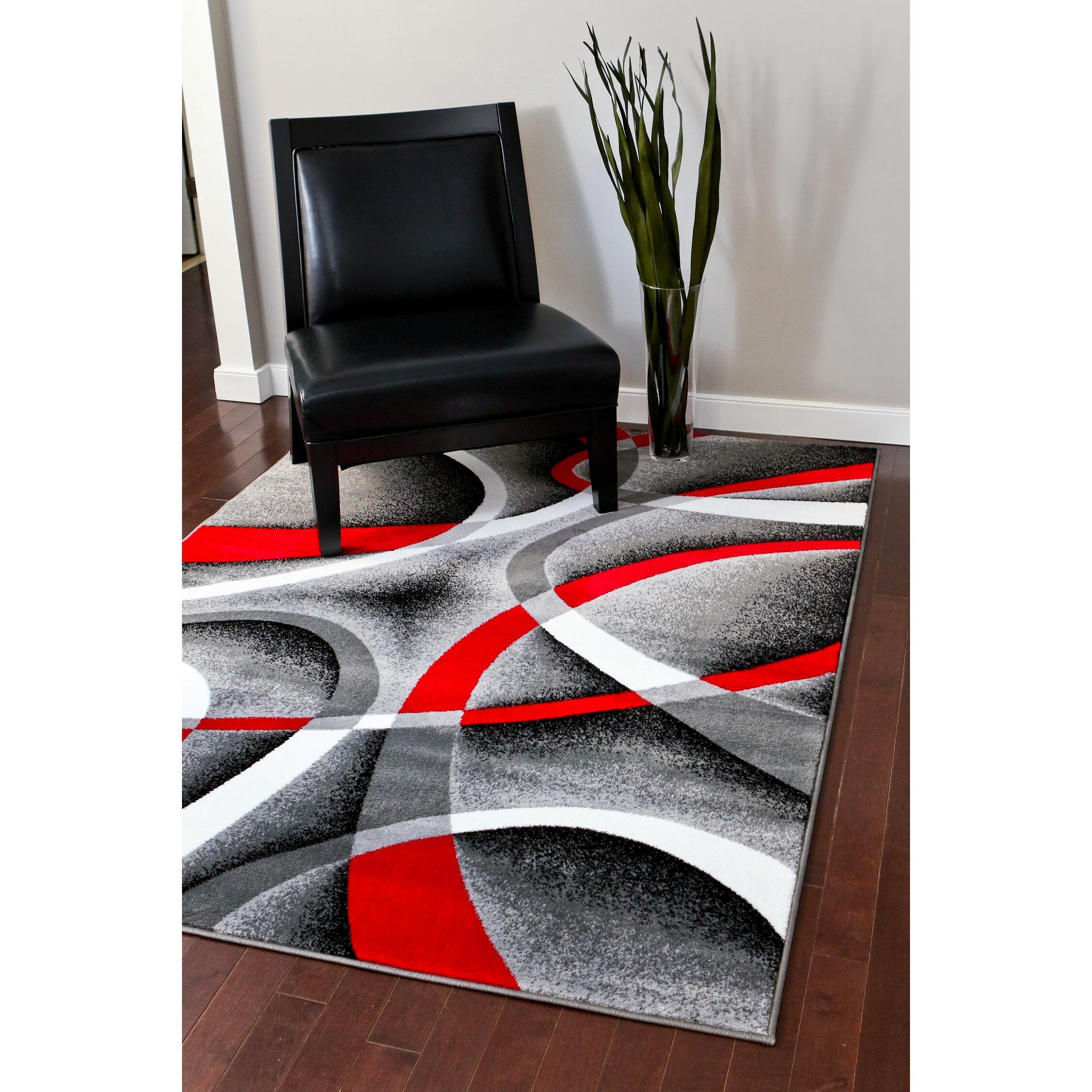 Persian Rugs Modern Gray Area Rug Amp Reviews Wayfair