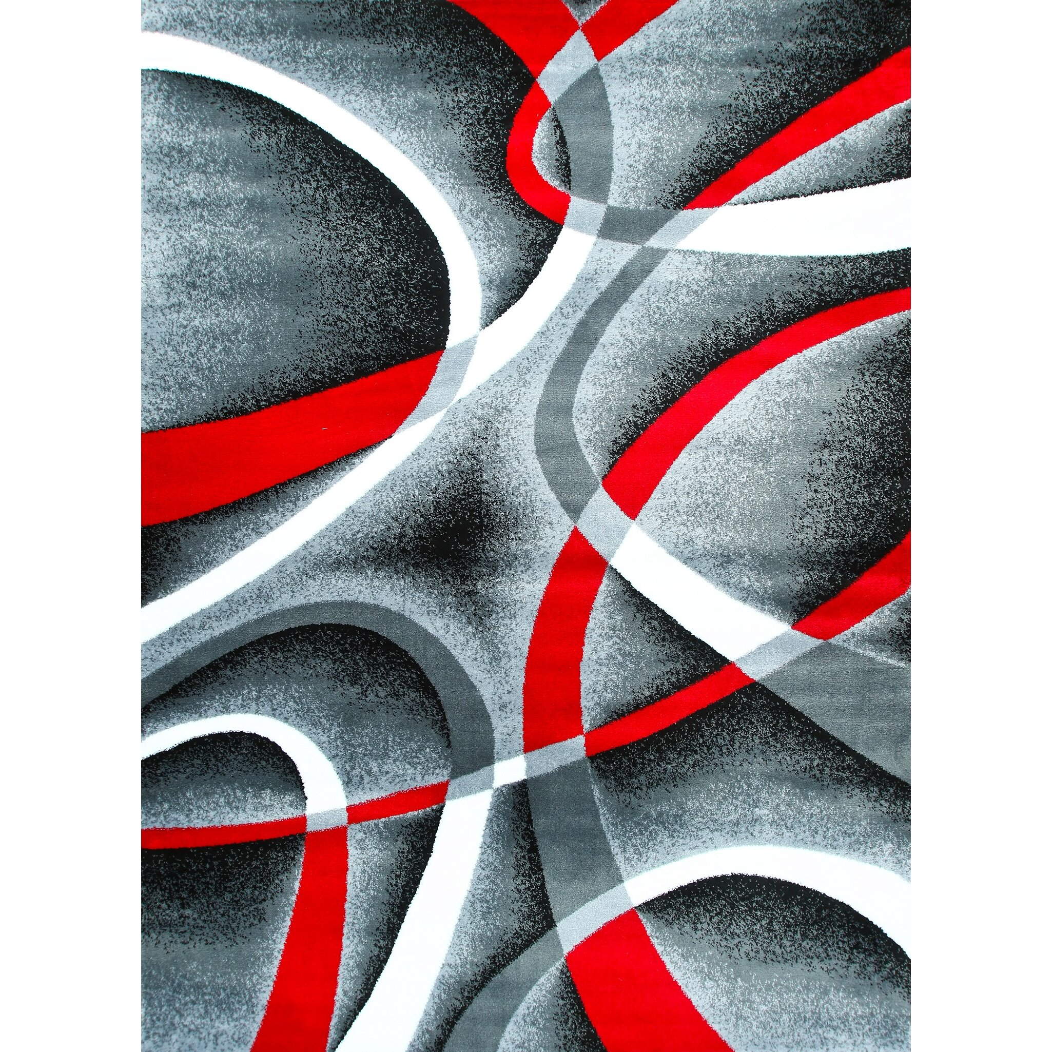 Persian-rugs Modern Gray Area Rug & Reviews | Wayfair