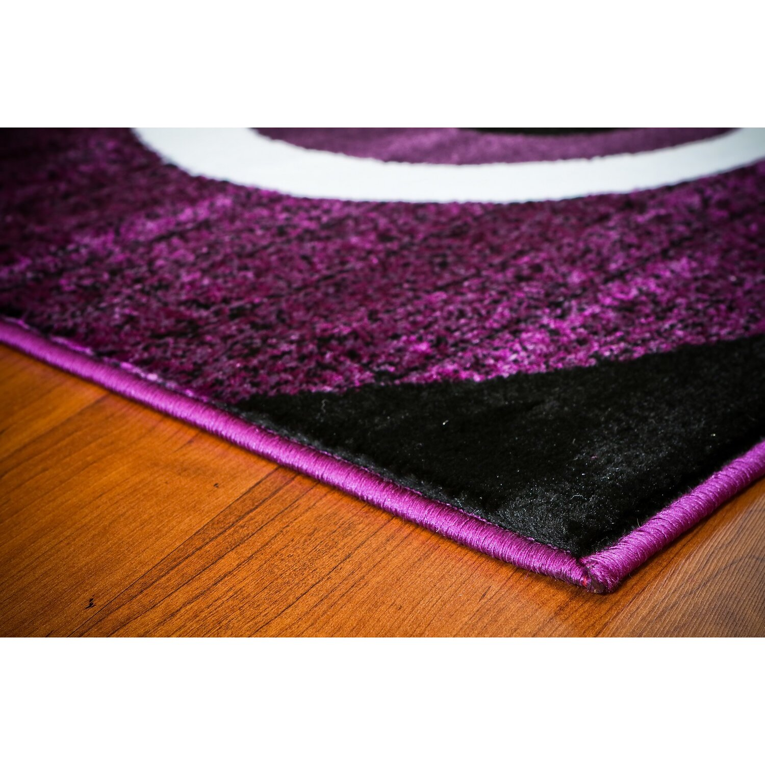 Persian-rugs Abstract Purple Area Rug & Reviews