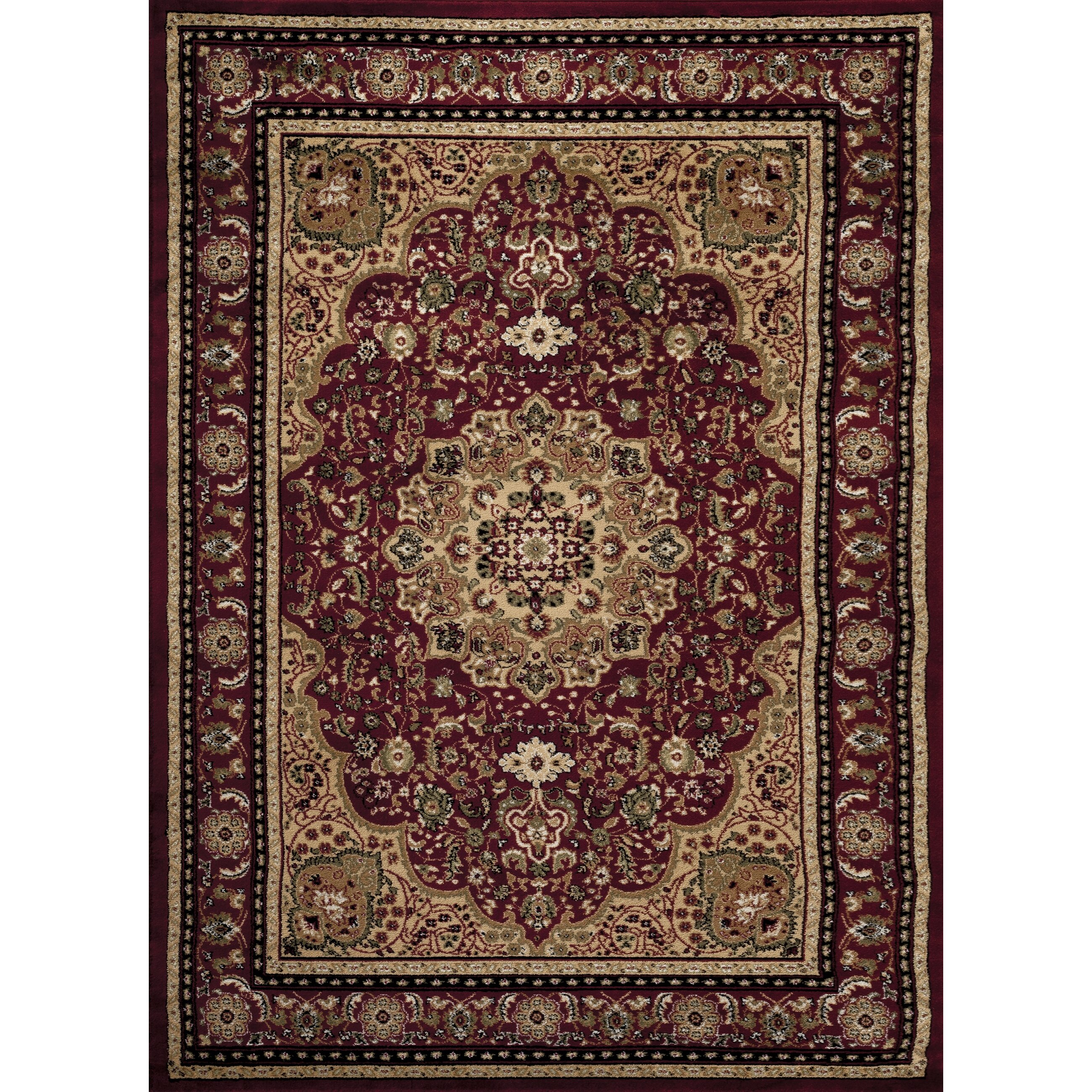 Burgandy Area Rugs