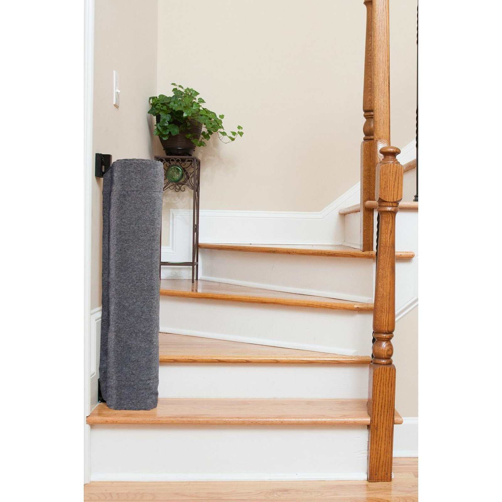 Thestairbarrier Wall To Banister Safety Gate Wayfair Ca