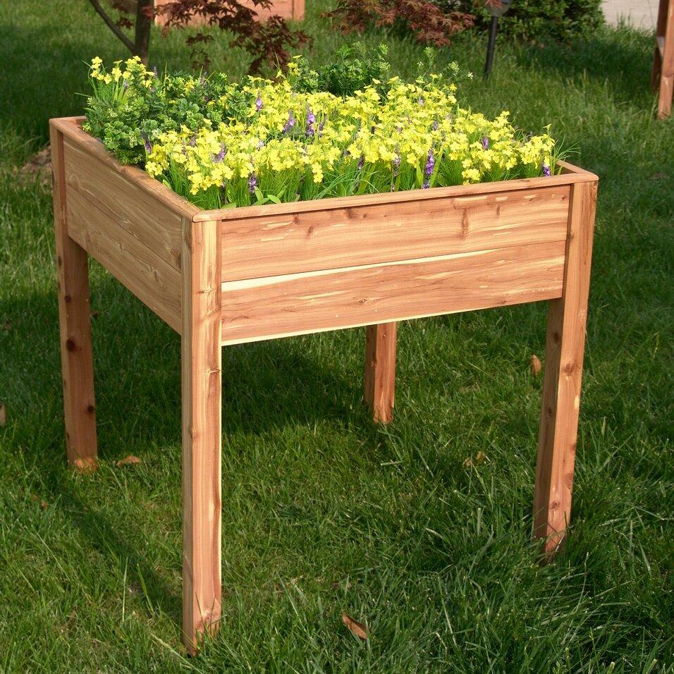 Tierra Garden Square Raised Garden Reviews Wayfair