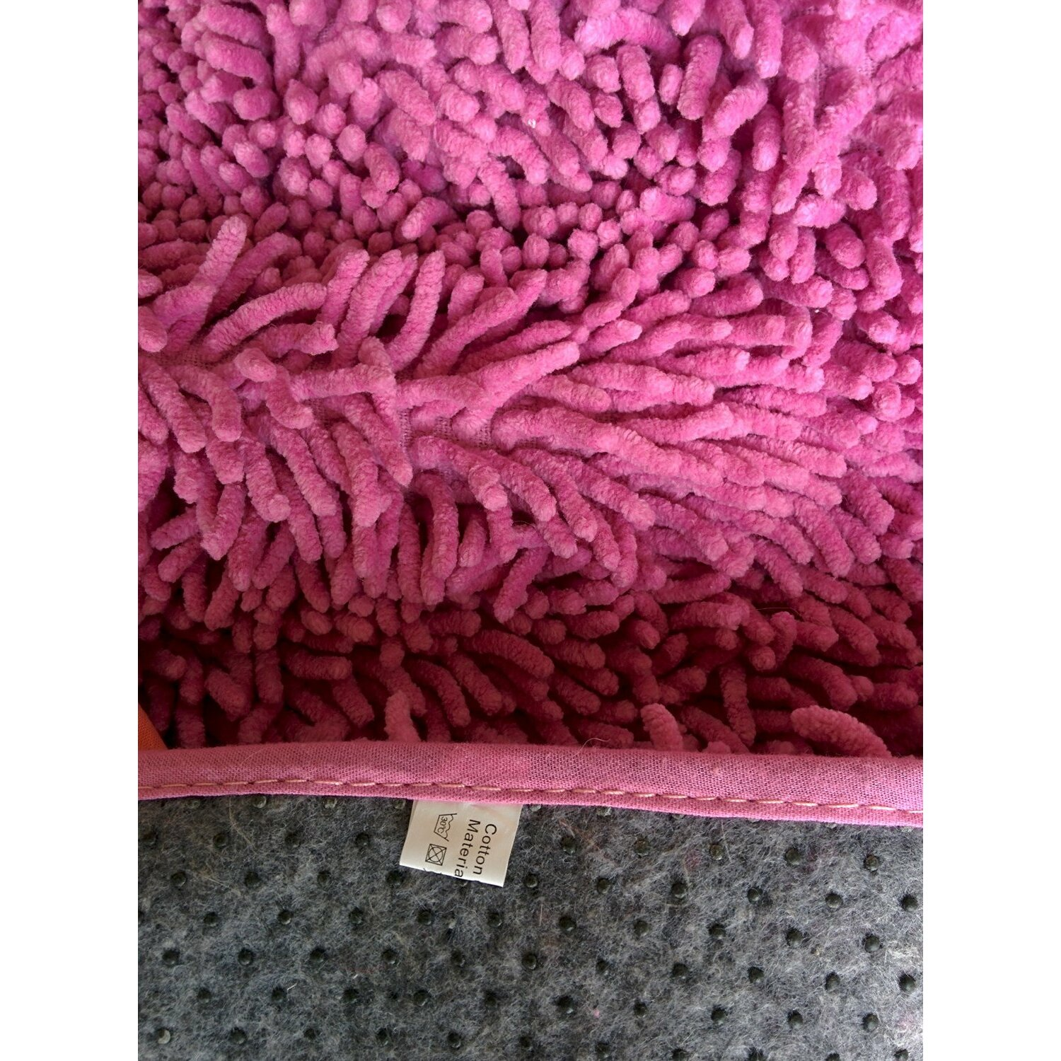 Tache Home Fashion Chenille Hot Pink Area Rug Wayfair