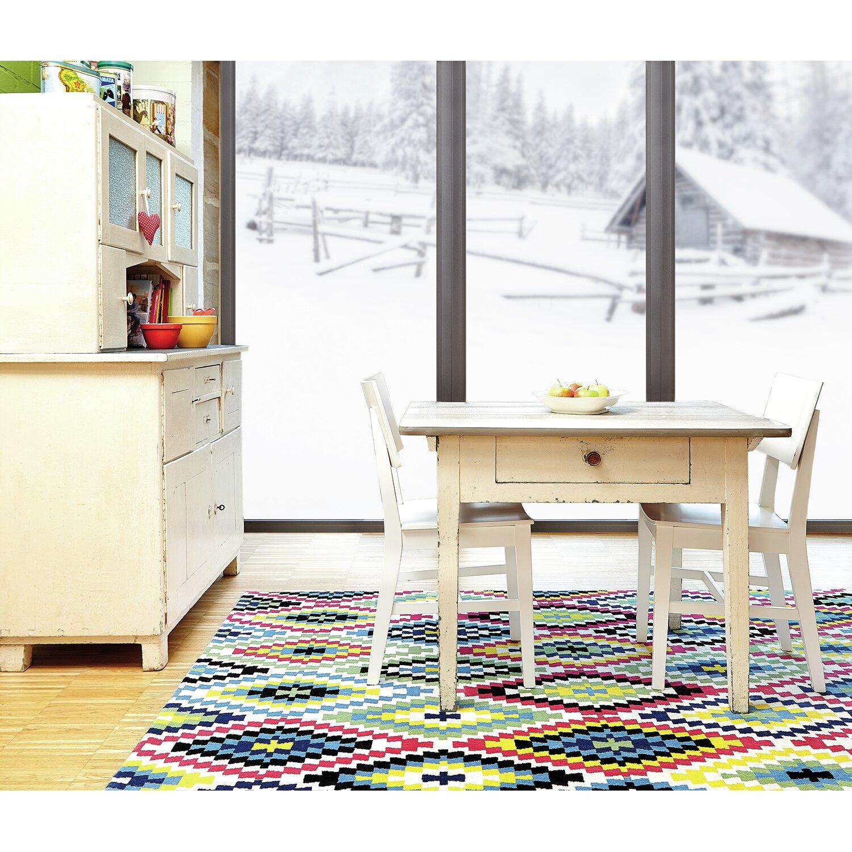Wecon Home Teppich Fresh Kelim in Bunt von {manufacture