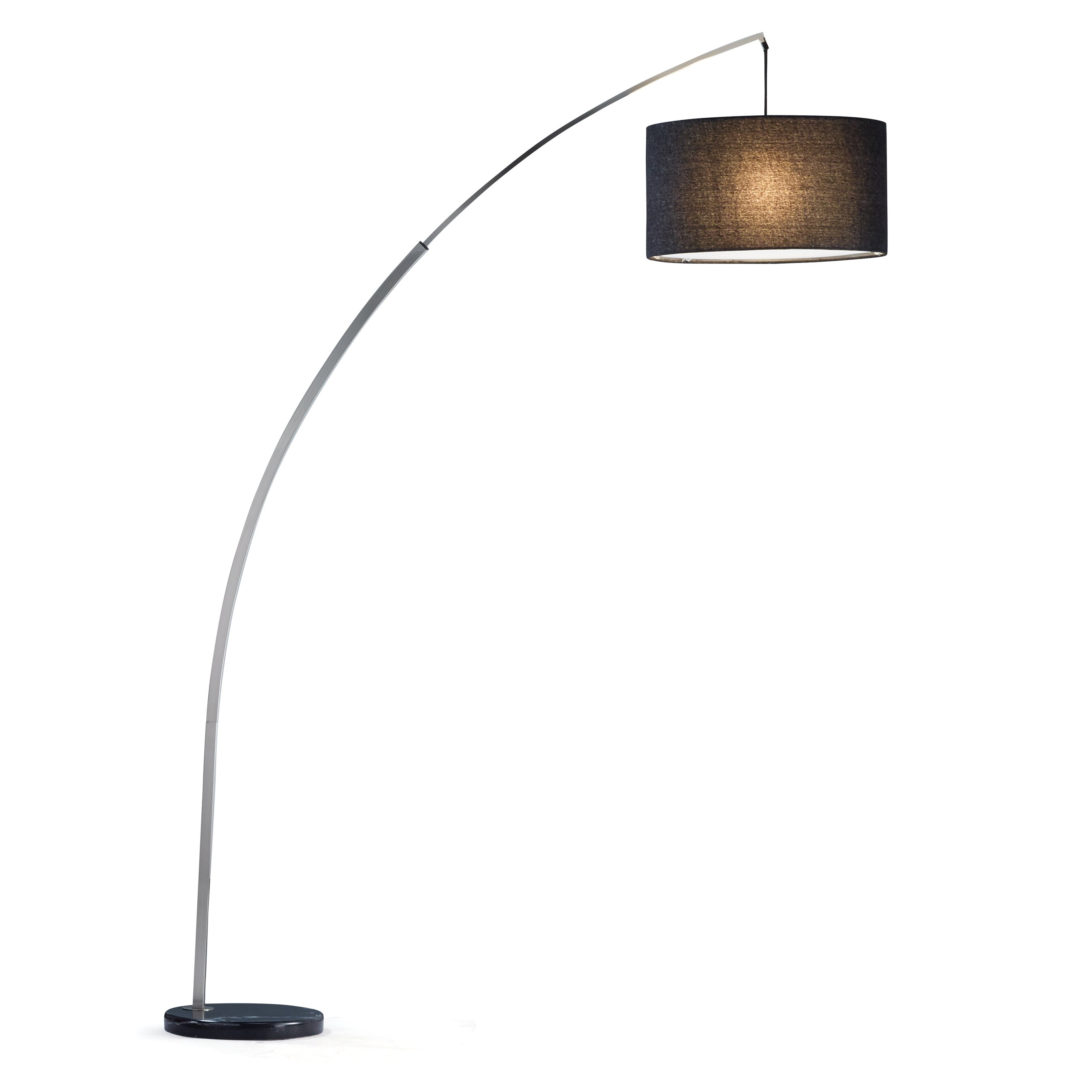 Adesso rivington 86 arched floor lamp reviews wayfair for Arch floor lamps for living room